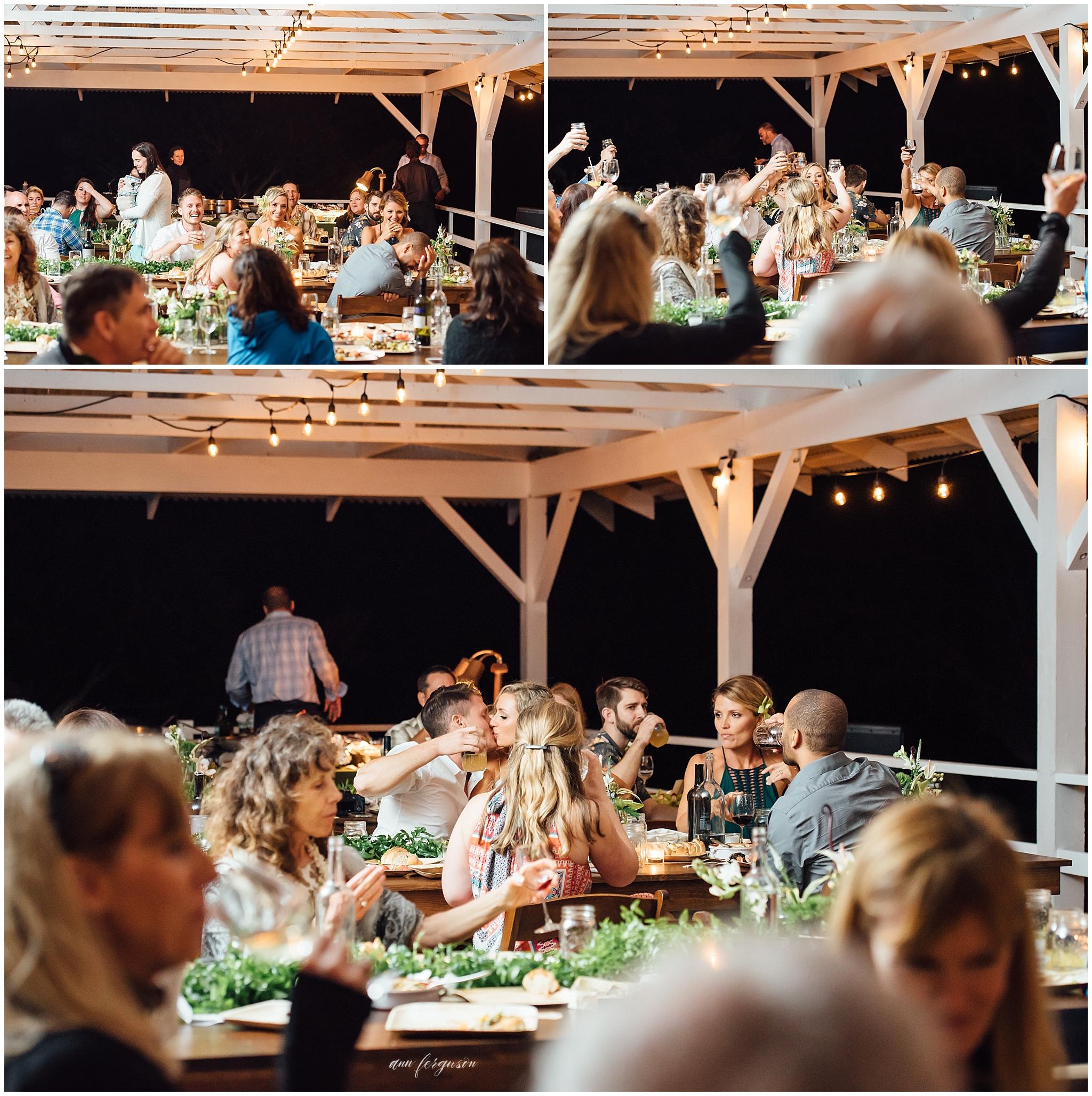 puakea ranch wedding reception