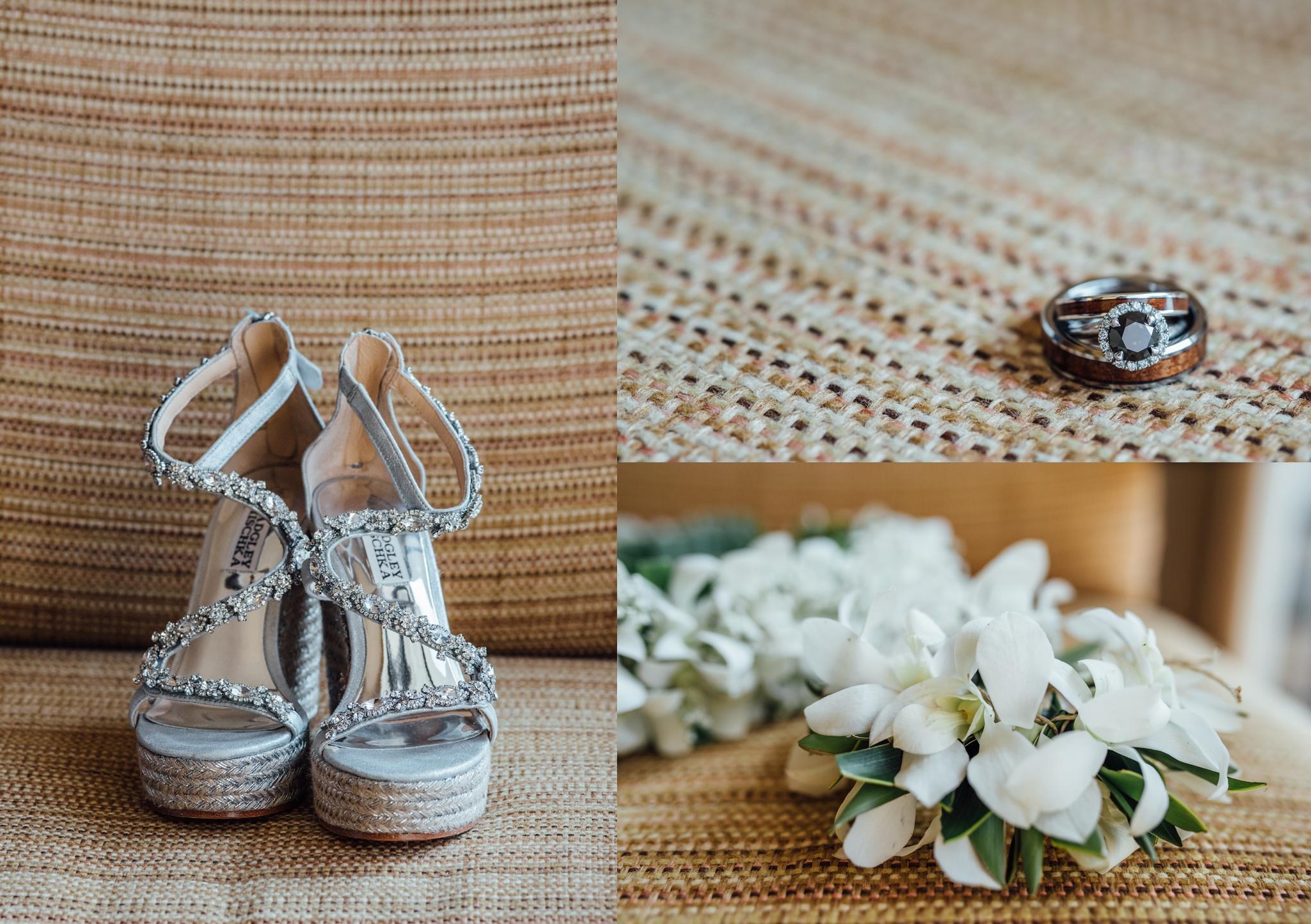 Sheraton Kona wedding details