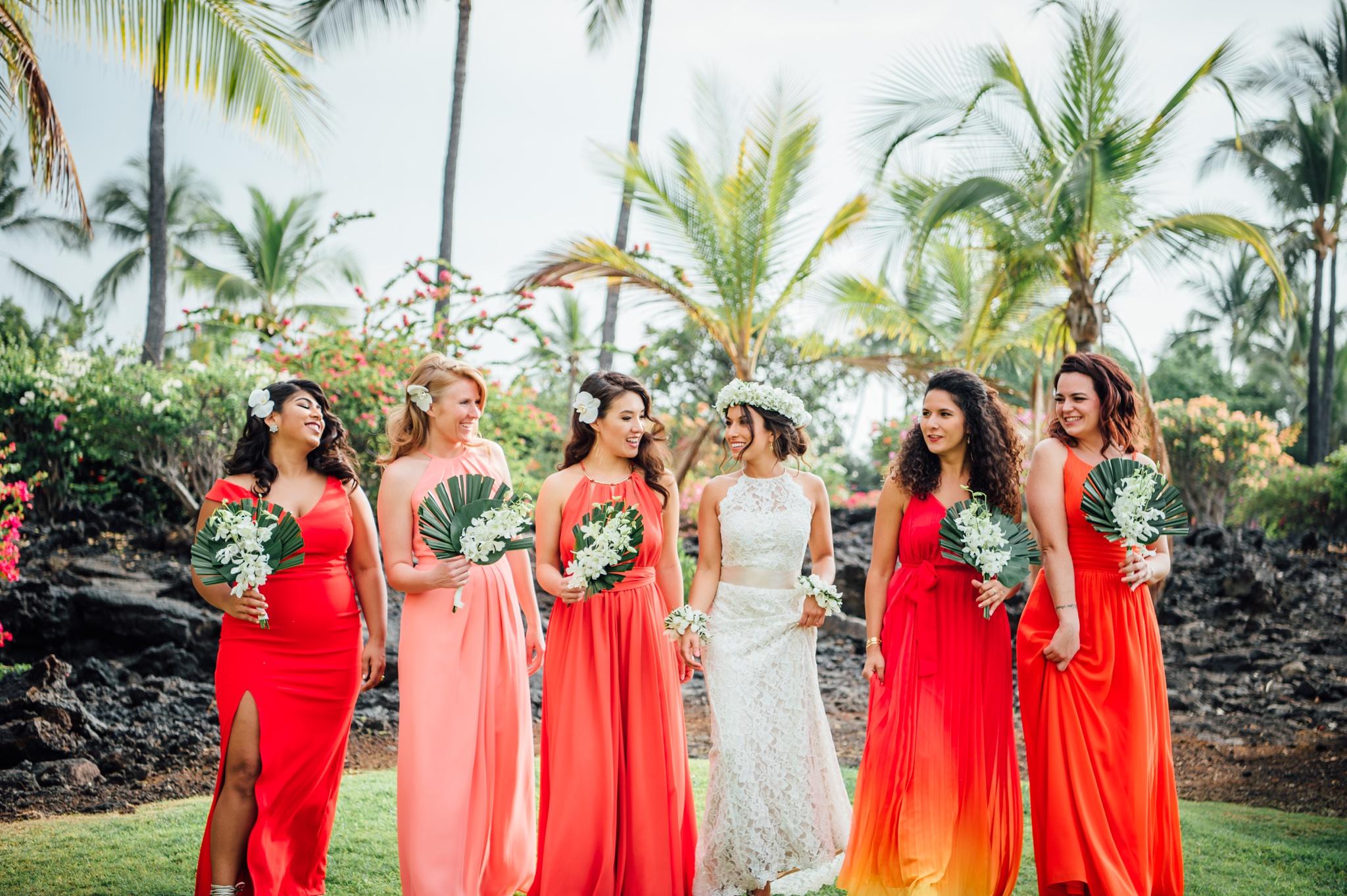 Big Island wedding bride