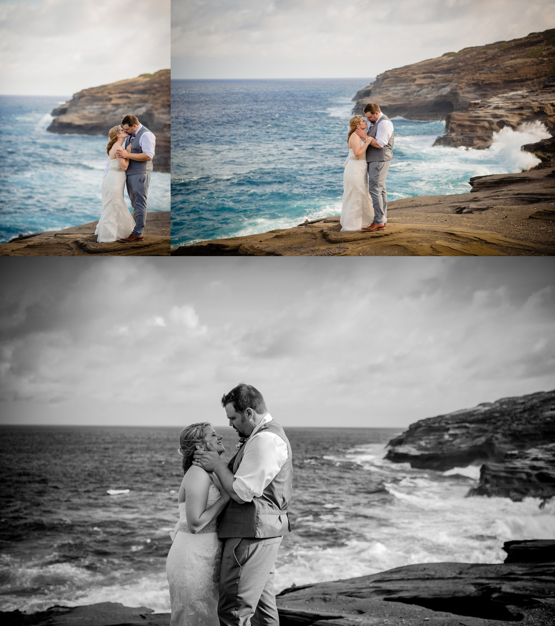 couple so in love on their oahu wedding