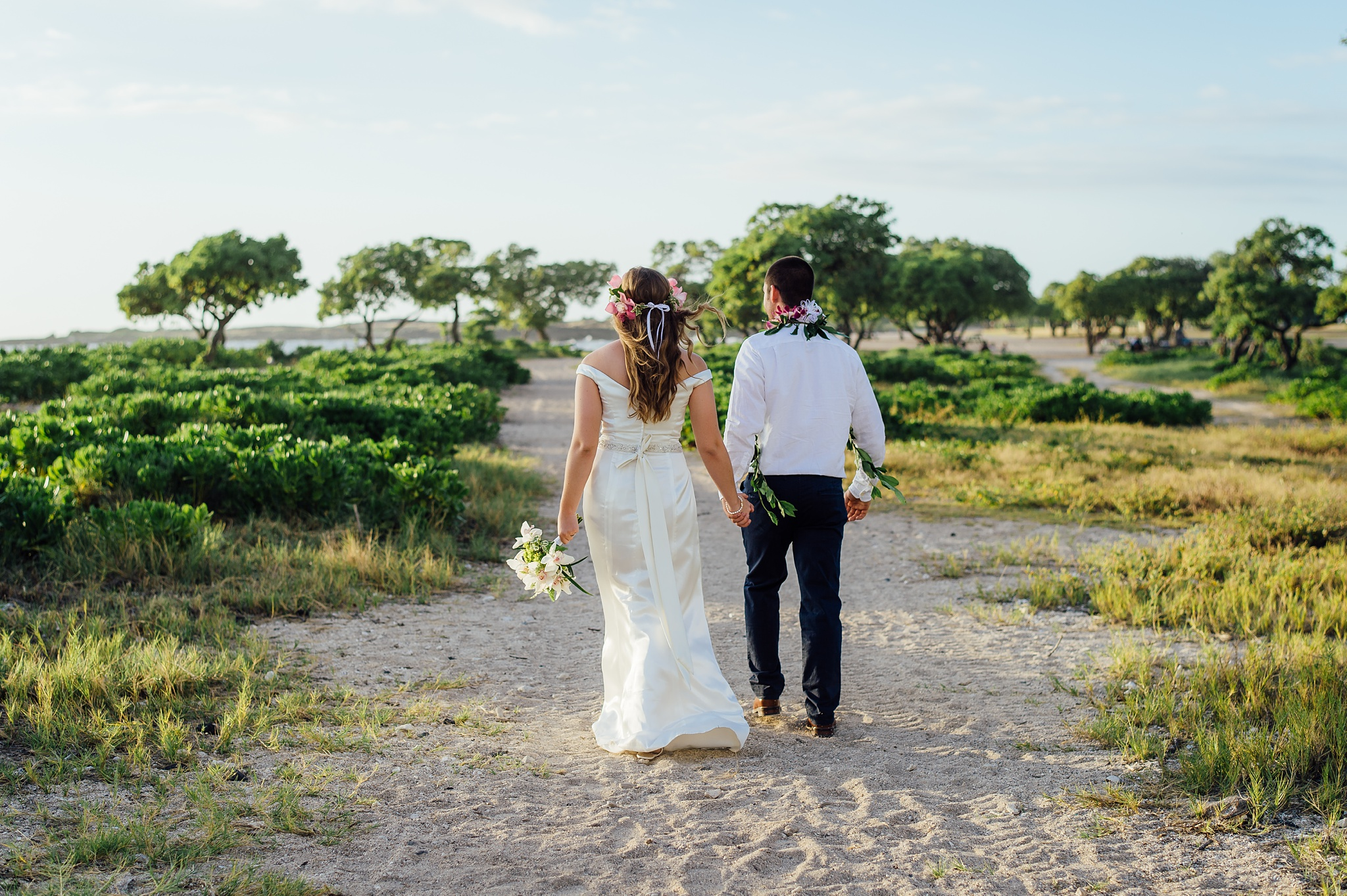Kona Old Airport Wedding Hawaii Elopement Photographer