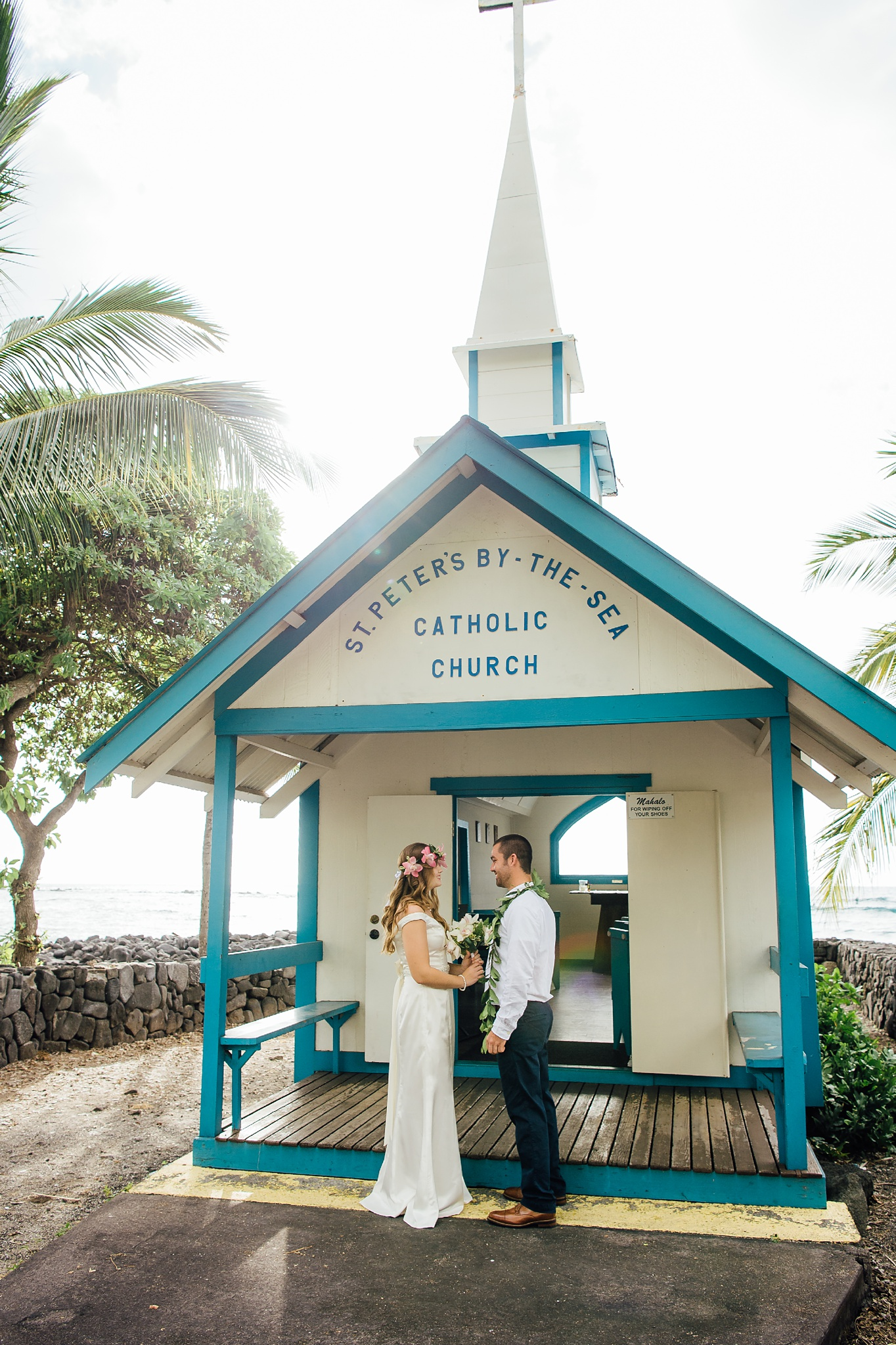 St Peters by the Sea Church in Kona for Weddings and Elopements