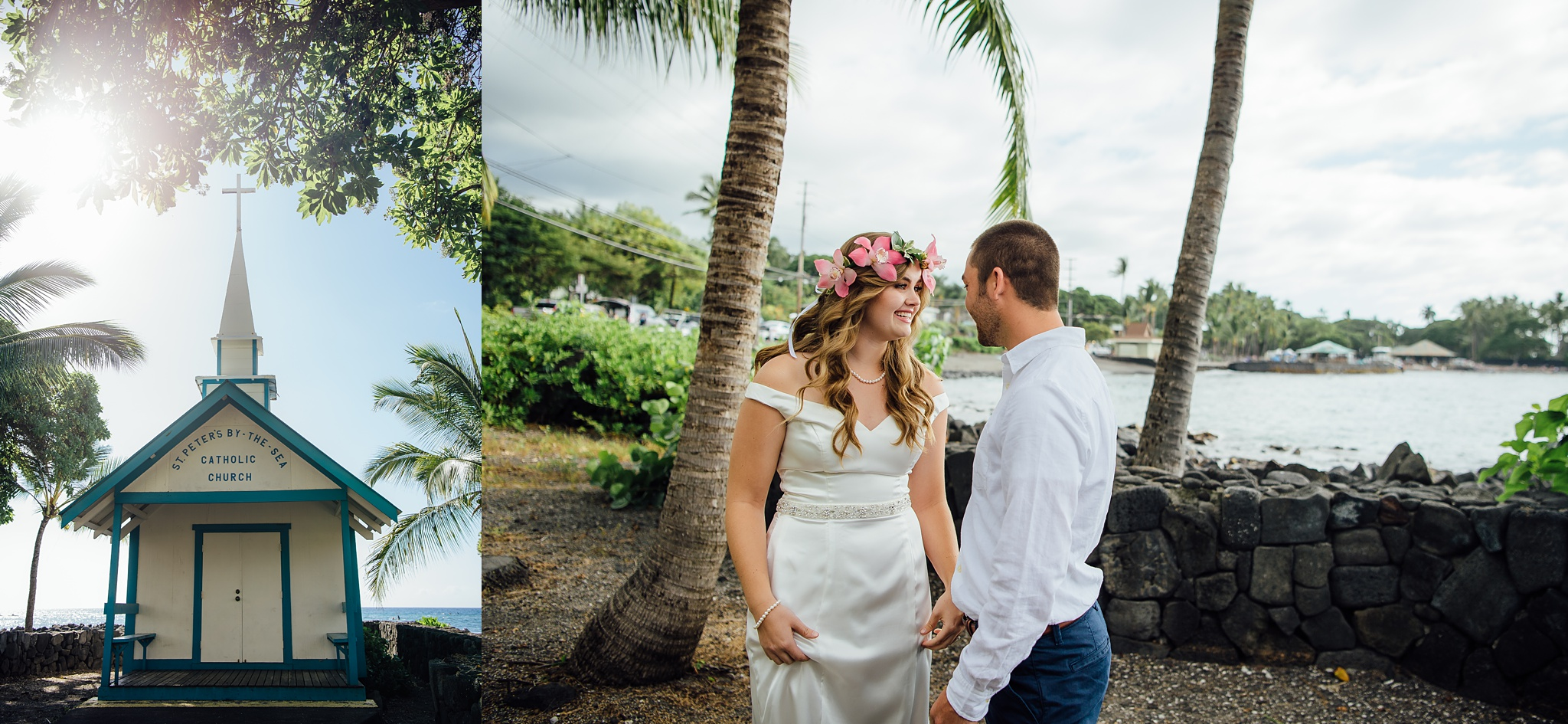 Catholic Wedding Kona by the Sea