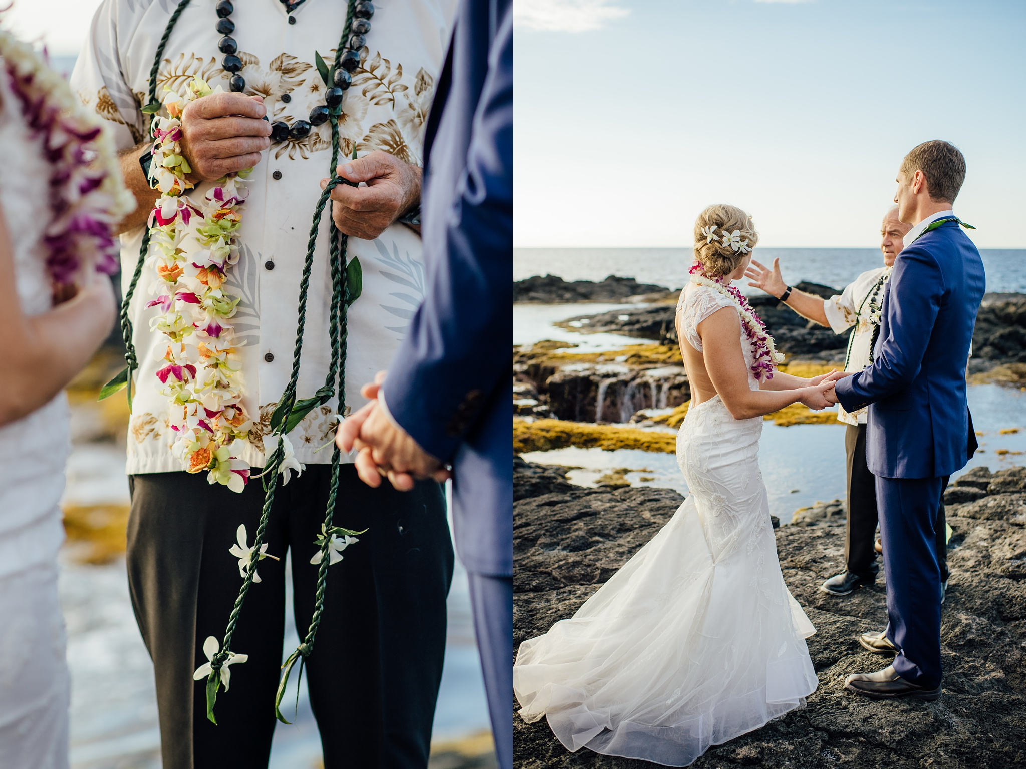 lei ceremony hawaii wedding