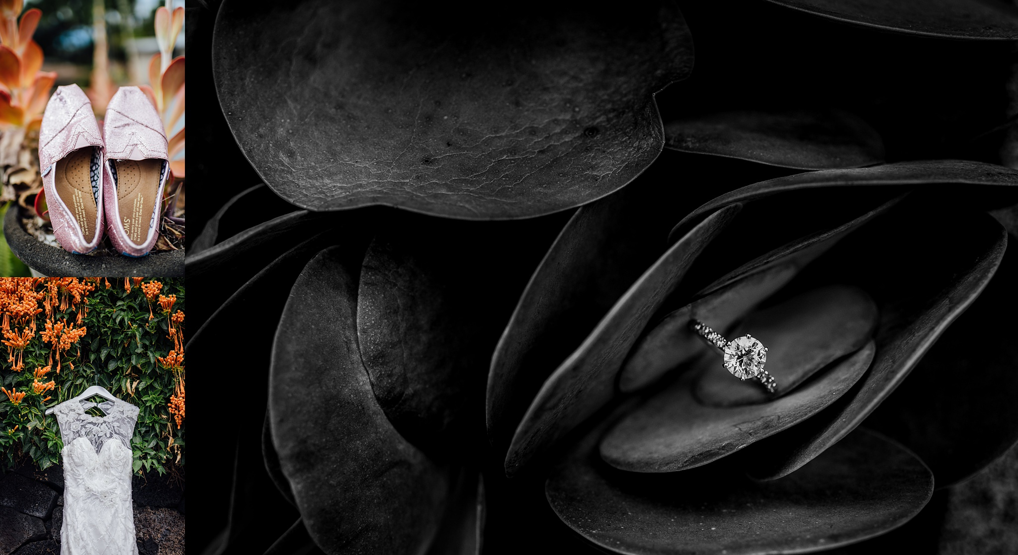 wedding details for hawaii wedding photography
