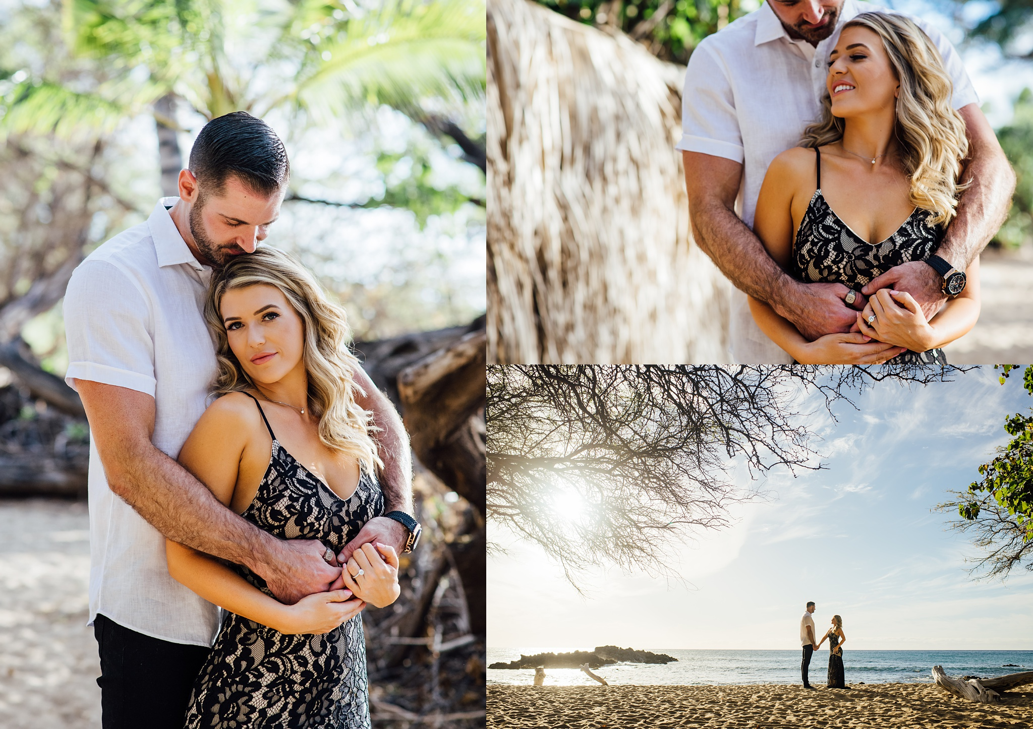 big island engagement session