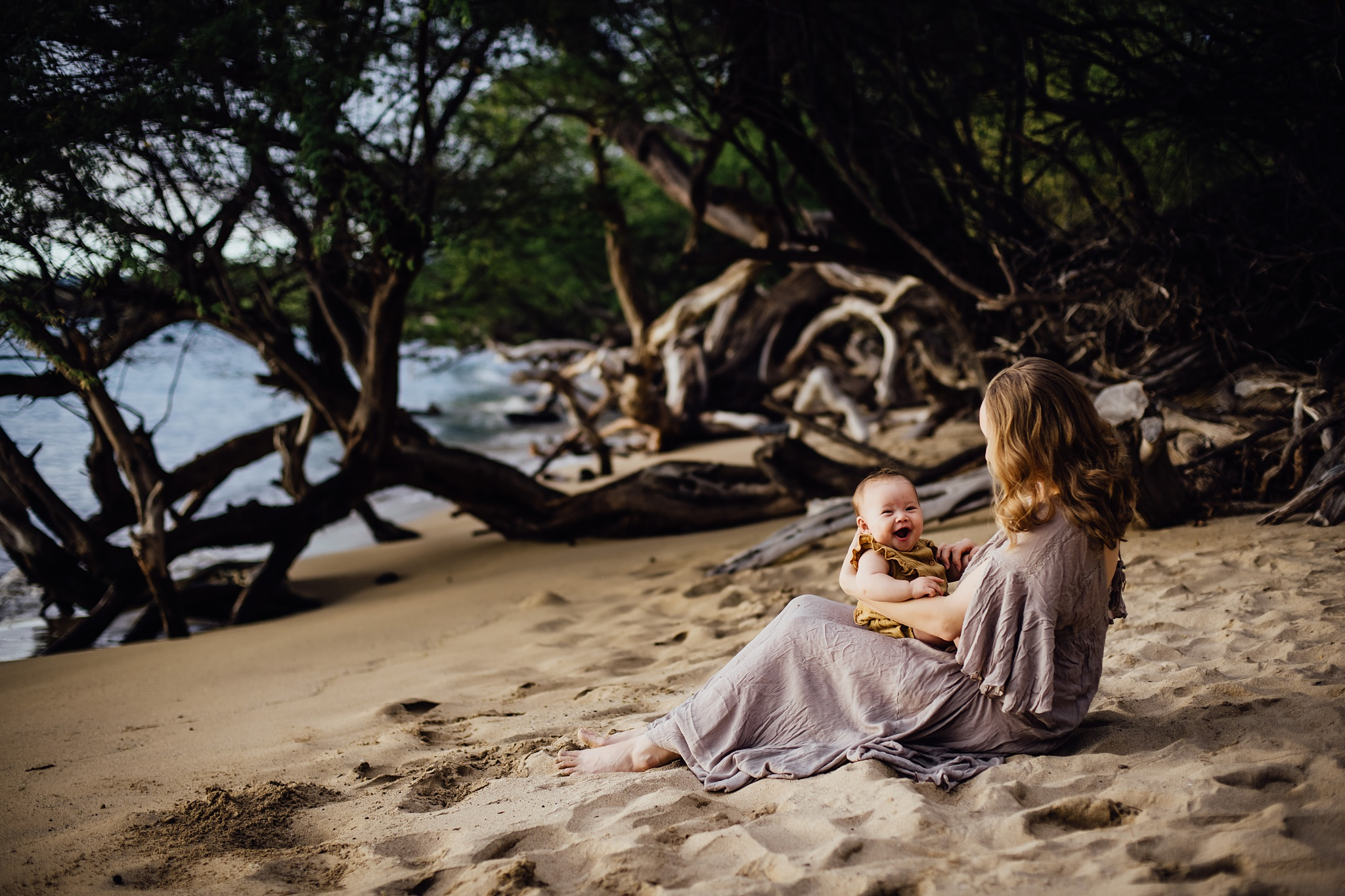Motherhood Session in Puako