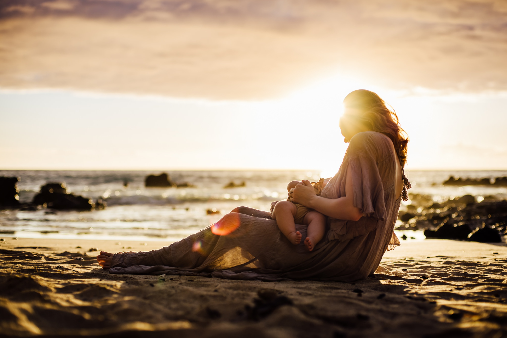 Breastfeeding in the Sunset