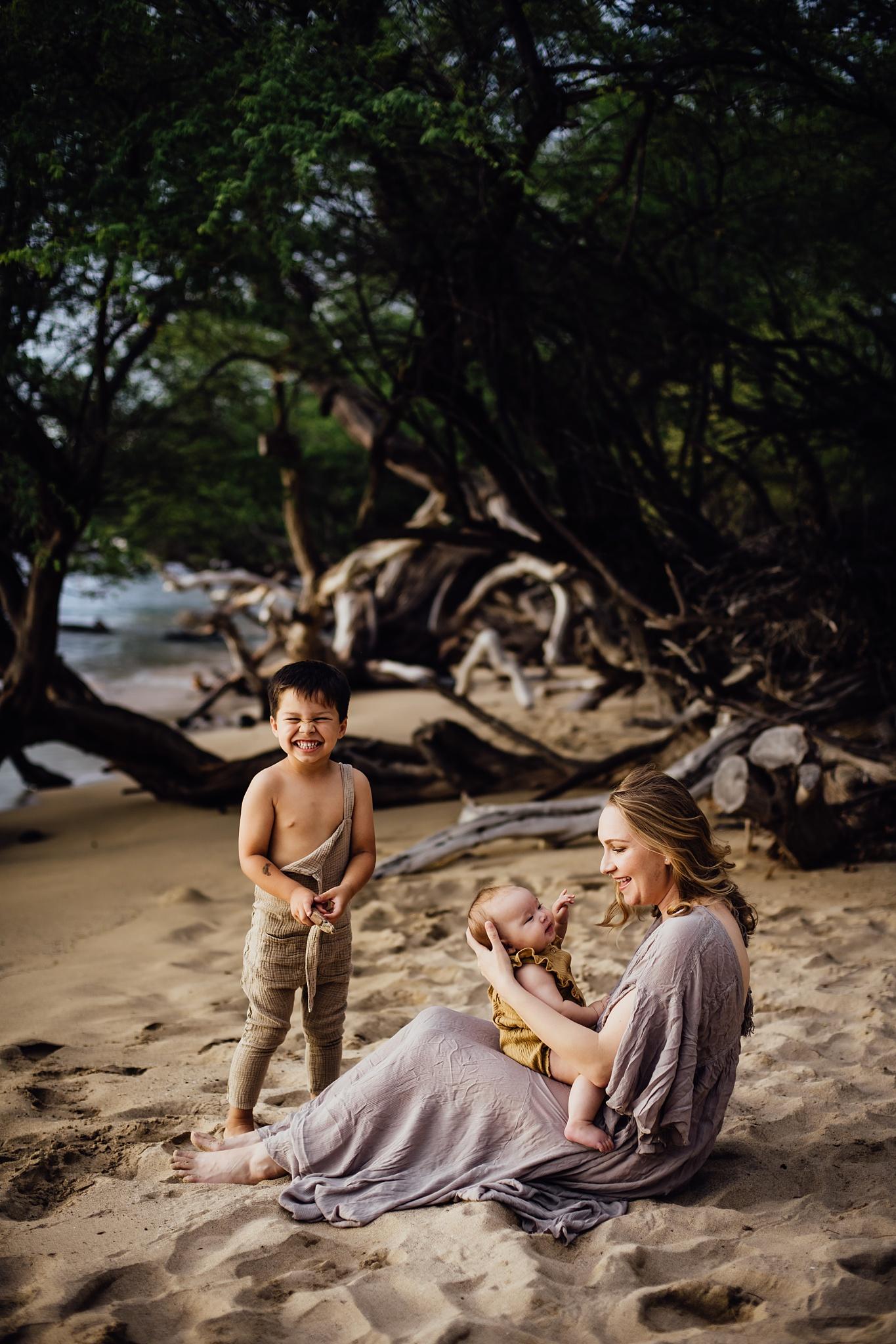 Adorable Family on the Big Island