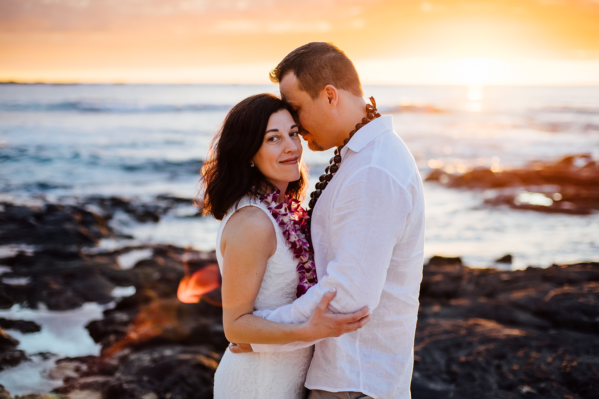 Sweet Wedding and Elopement on the Big Island