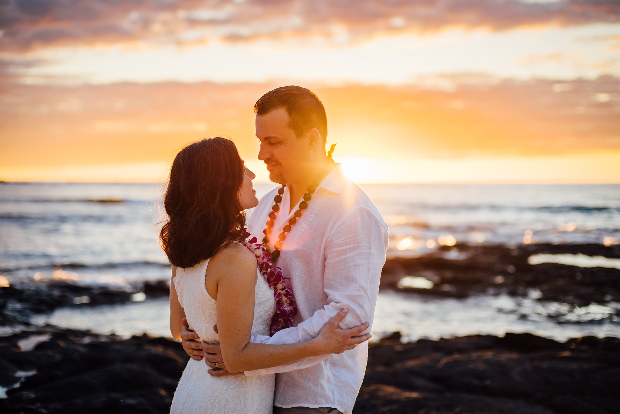 Big Island Wedding Photography at Kukio Beach
