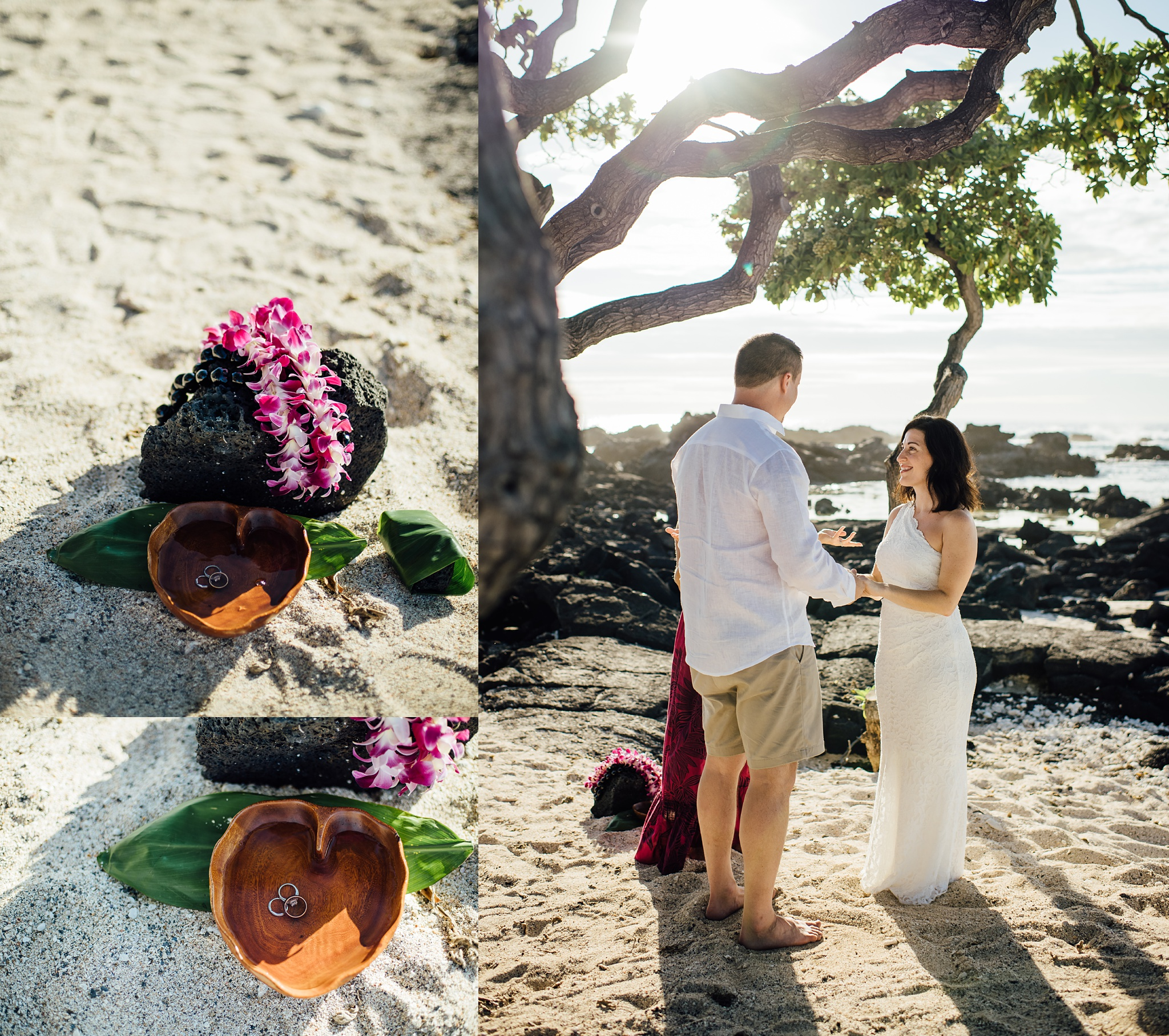 Kikaua Elopement with Simple Kona Beach Weddings