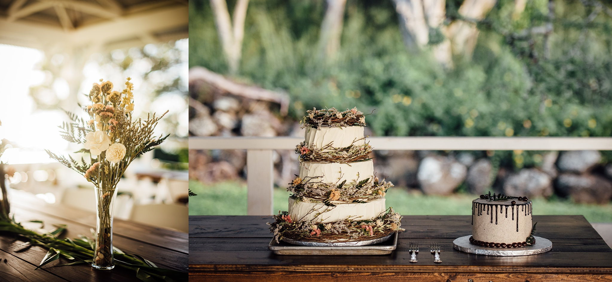 wedding cake, puakea ranch wedding