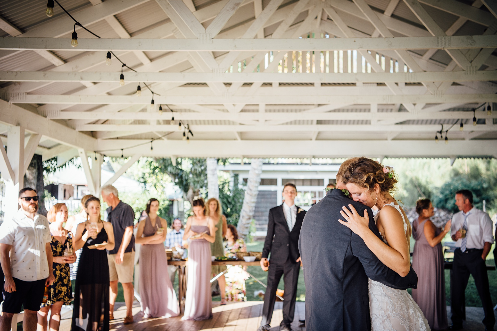 first dance during a Big island wedding