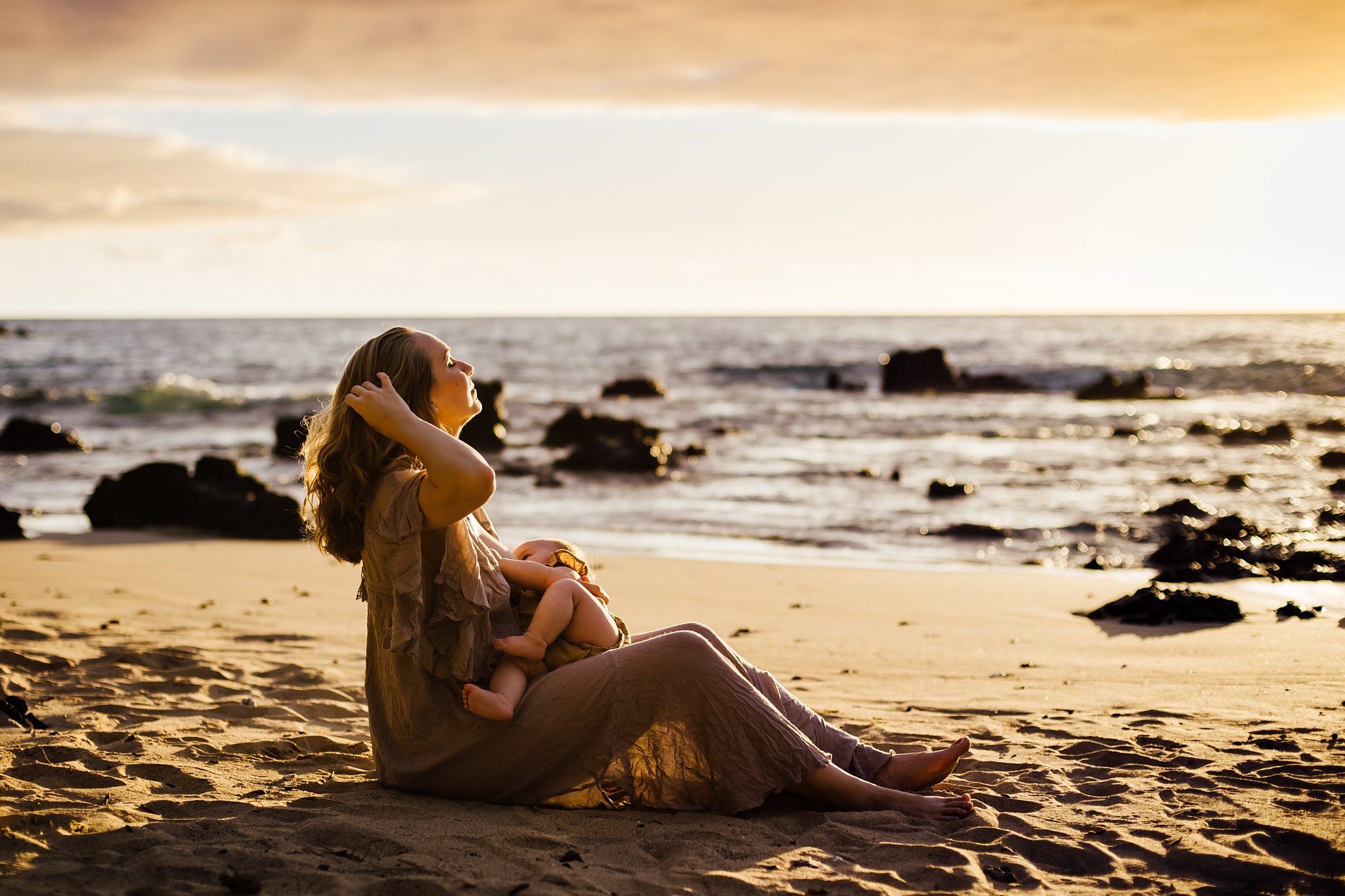 Puako Motherhood Session -