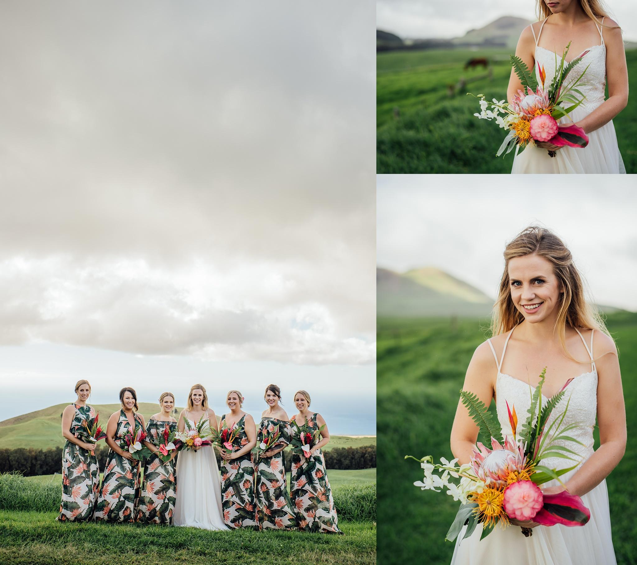 Hawaii Bride on Big Island ranch wedding