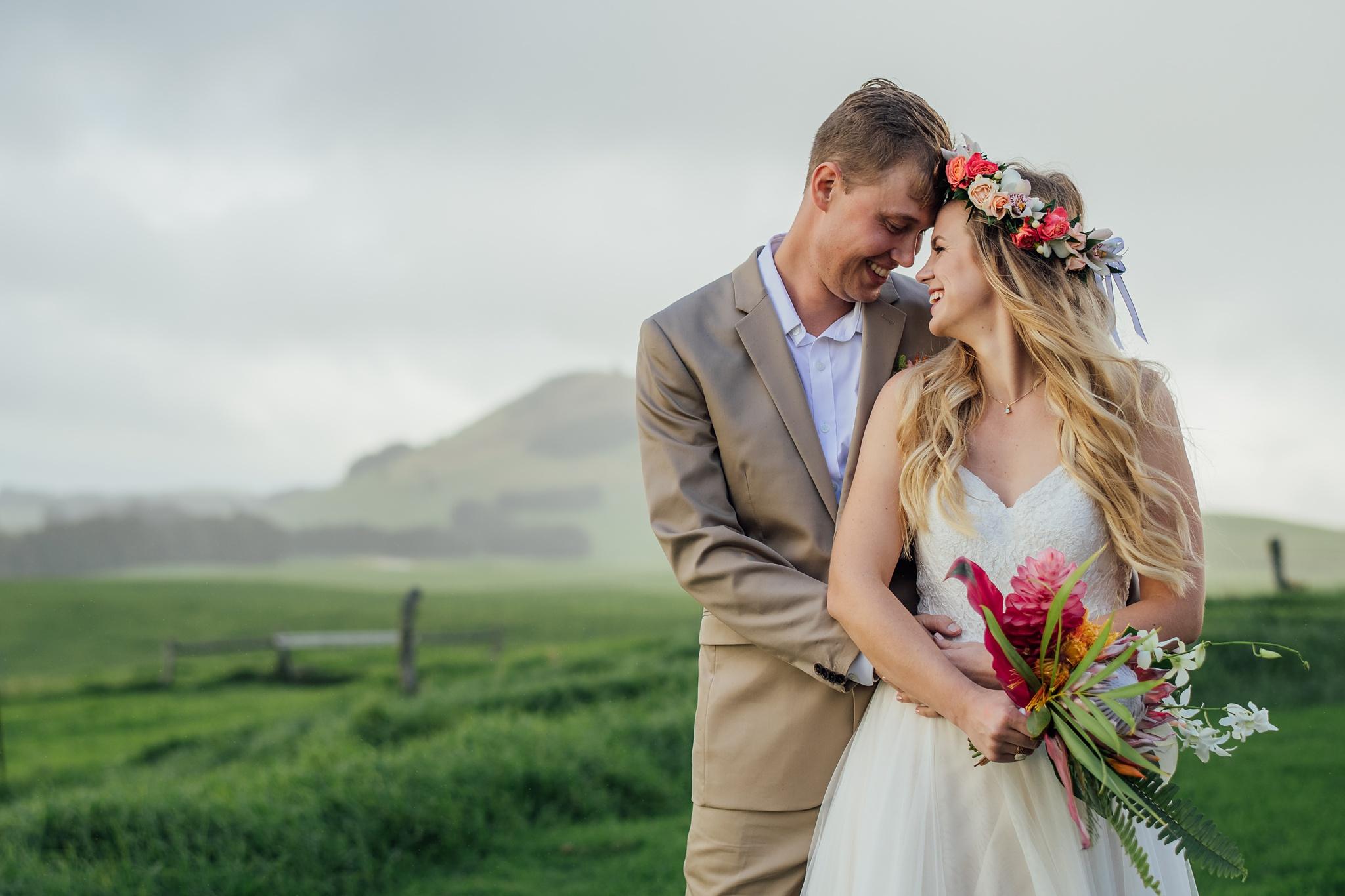 hawaii ranch wedding photographer