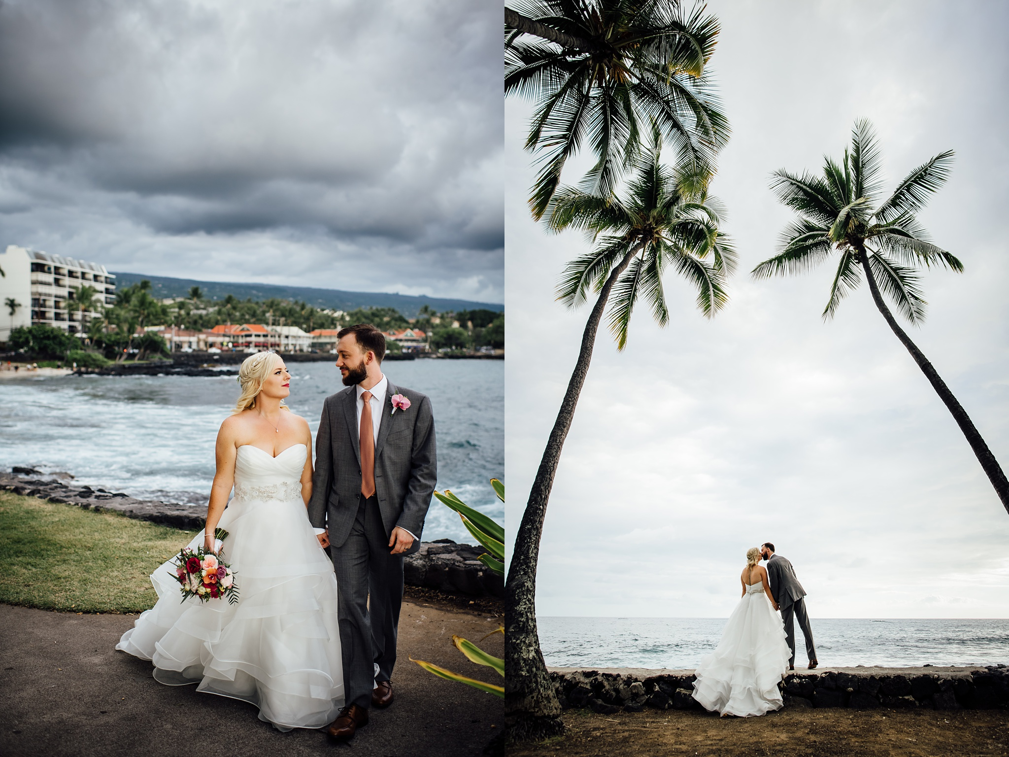 Stormy Wedding Day in Kona