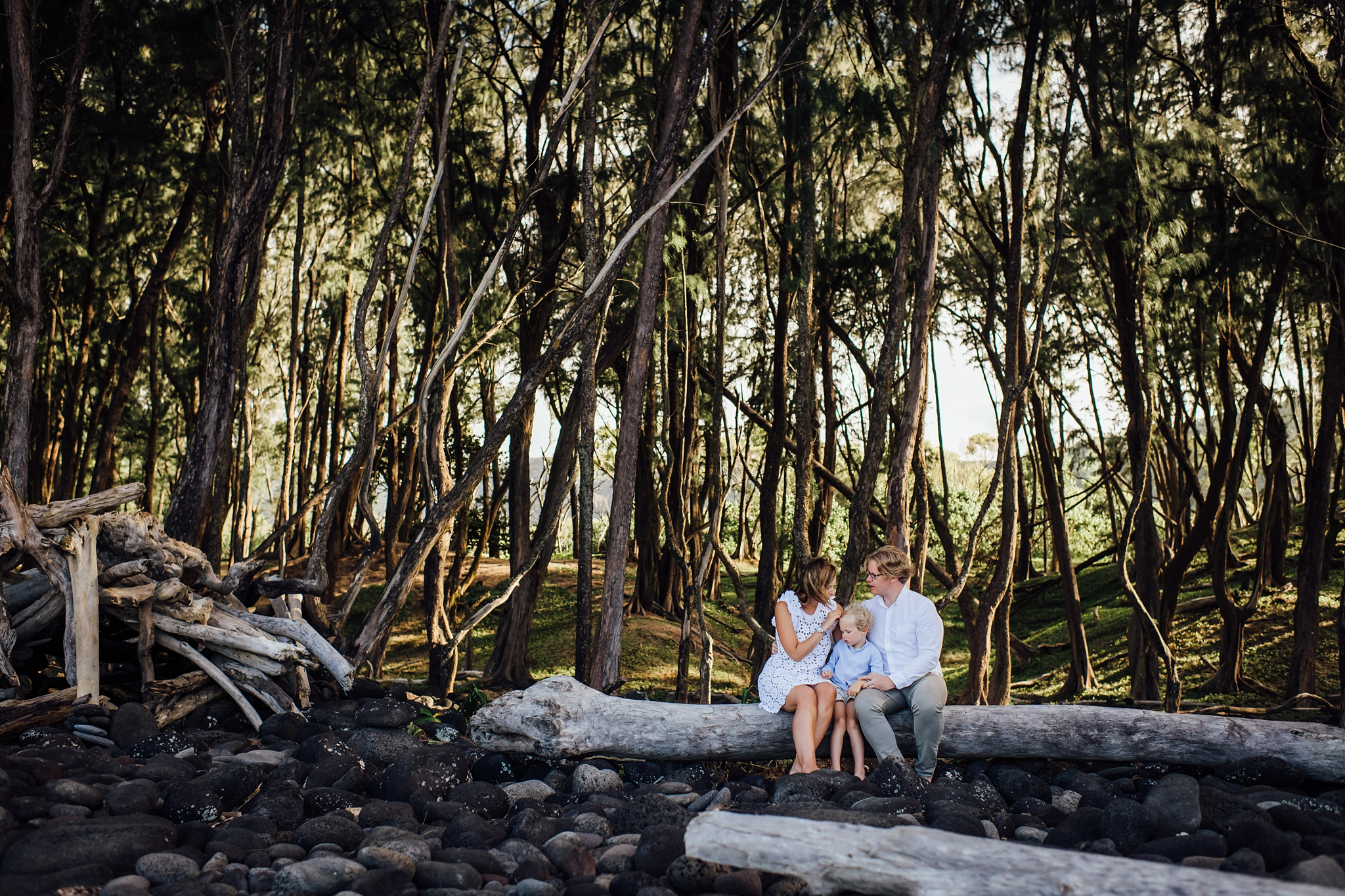 Family Session on the Big Island