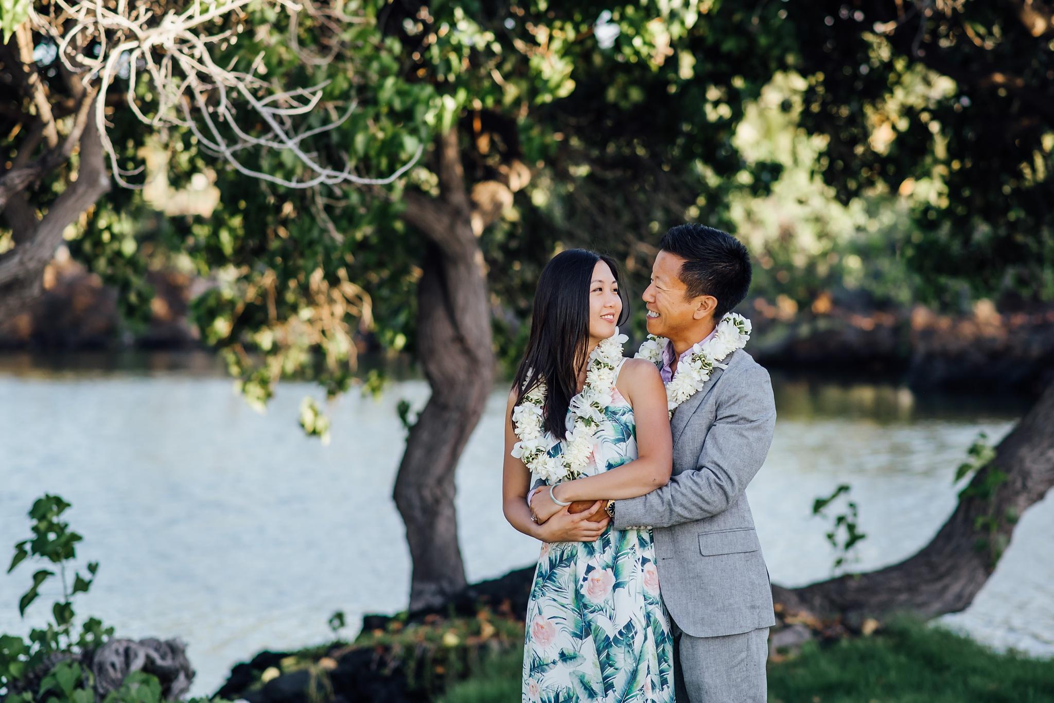 hawaii wedding photography mauna lani