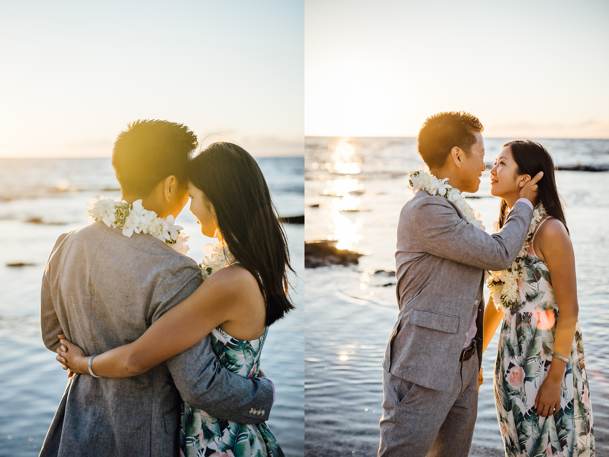 Sweet moments with the couple after their elopement ceremony