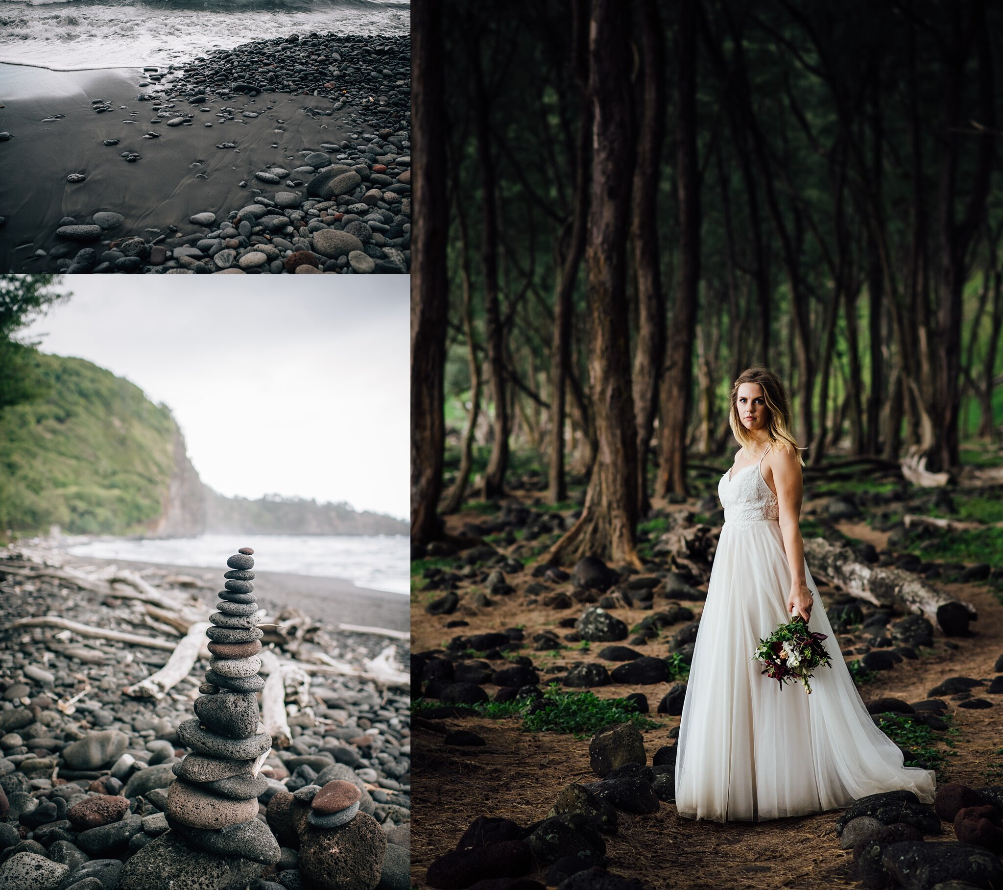 Magical elopement in pololu valley