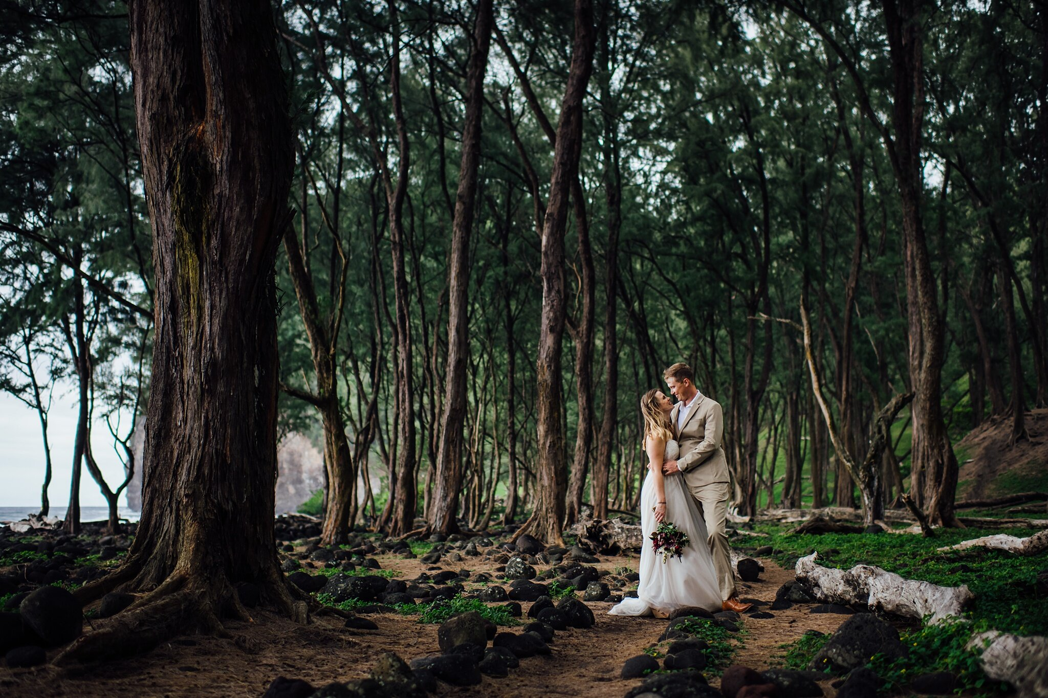 Elopement on the big island