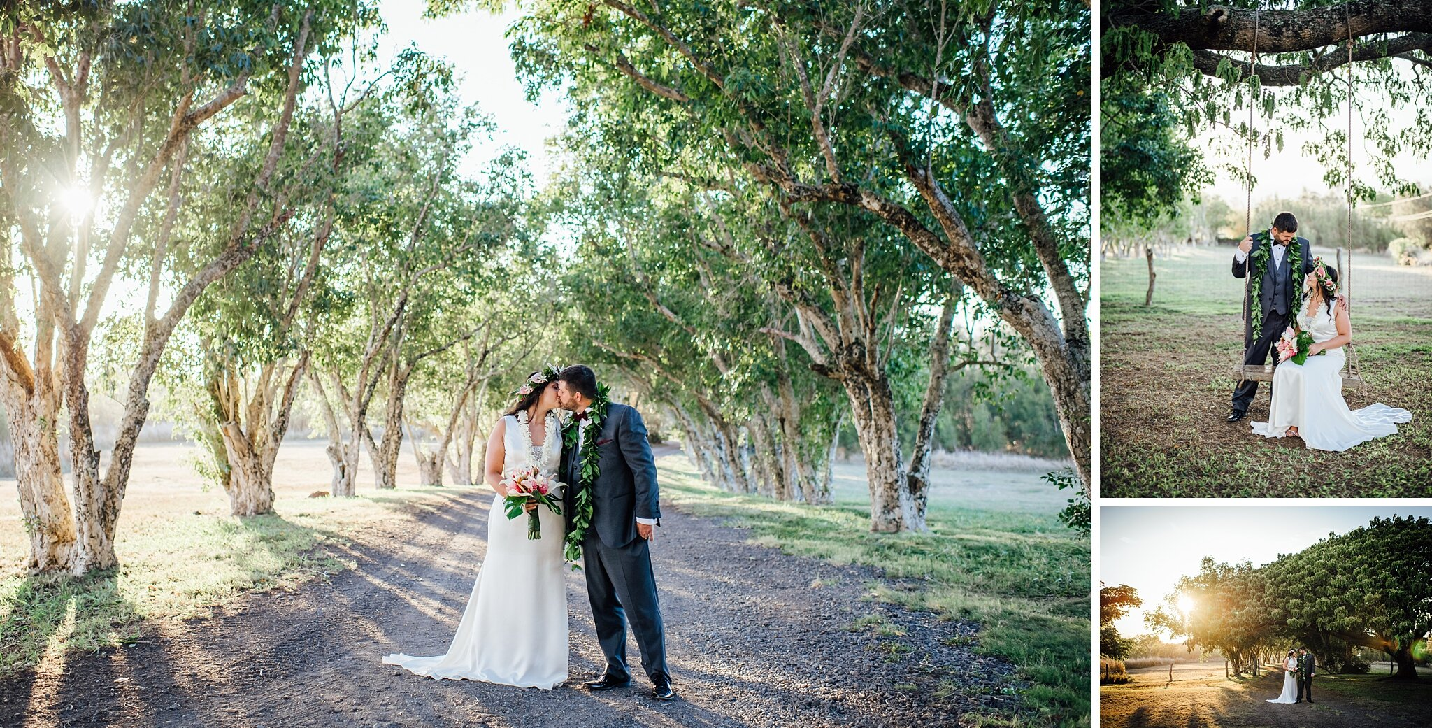 Big Island Wedding Venue at Puakea Ranch by Ann Ferguson Photography