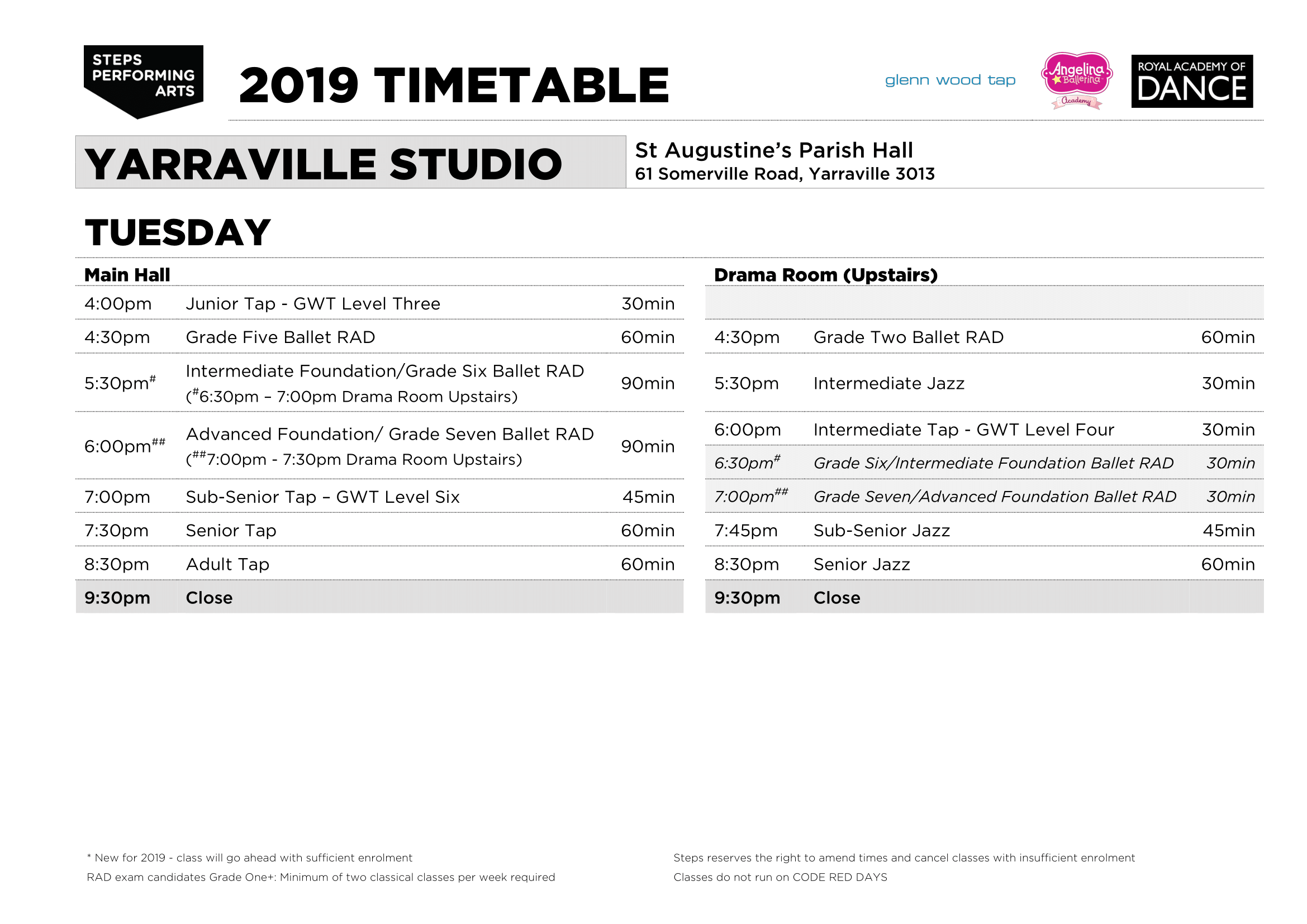 Steps_Timetable_2019_YARRAVILLE_v0-2_TUE.png
