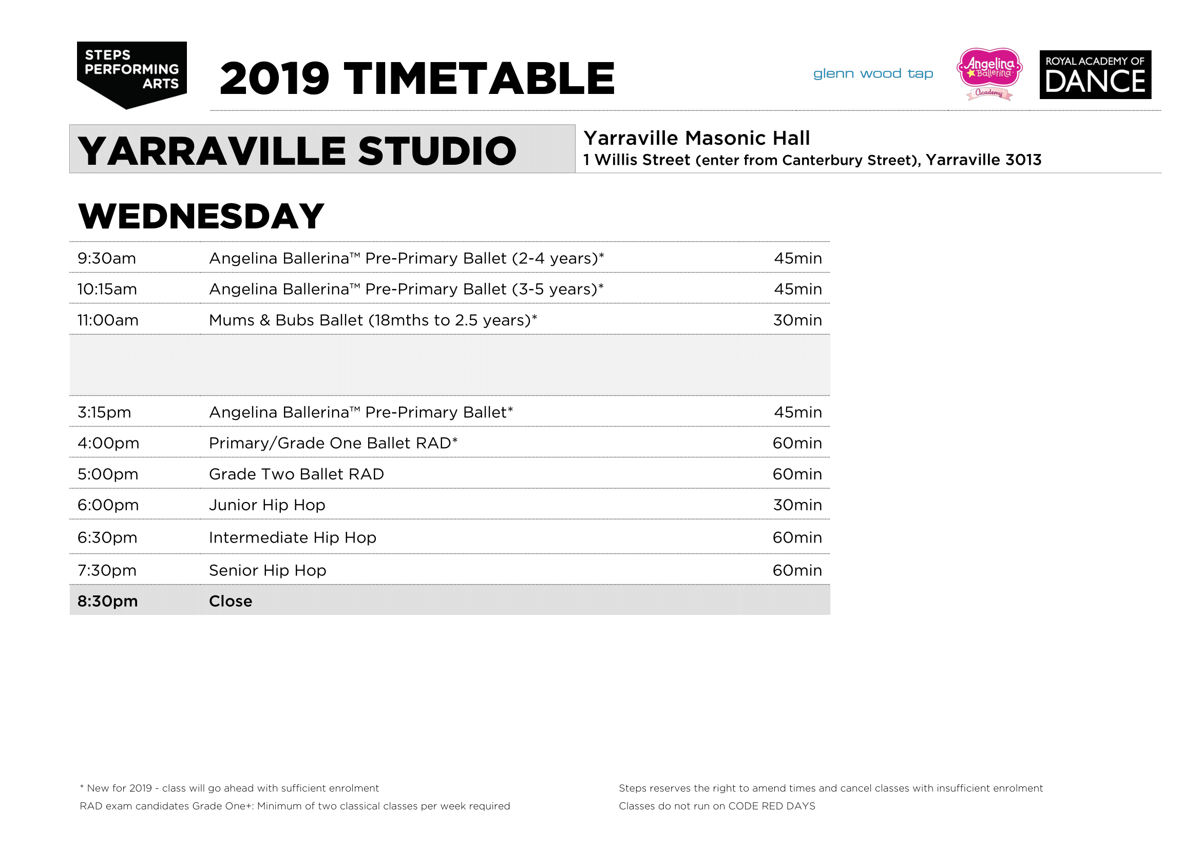 Steps_Timetable_2019_YARRAVILLE_v0-3_WED.png