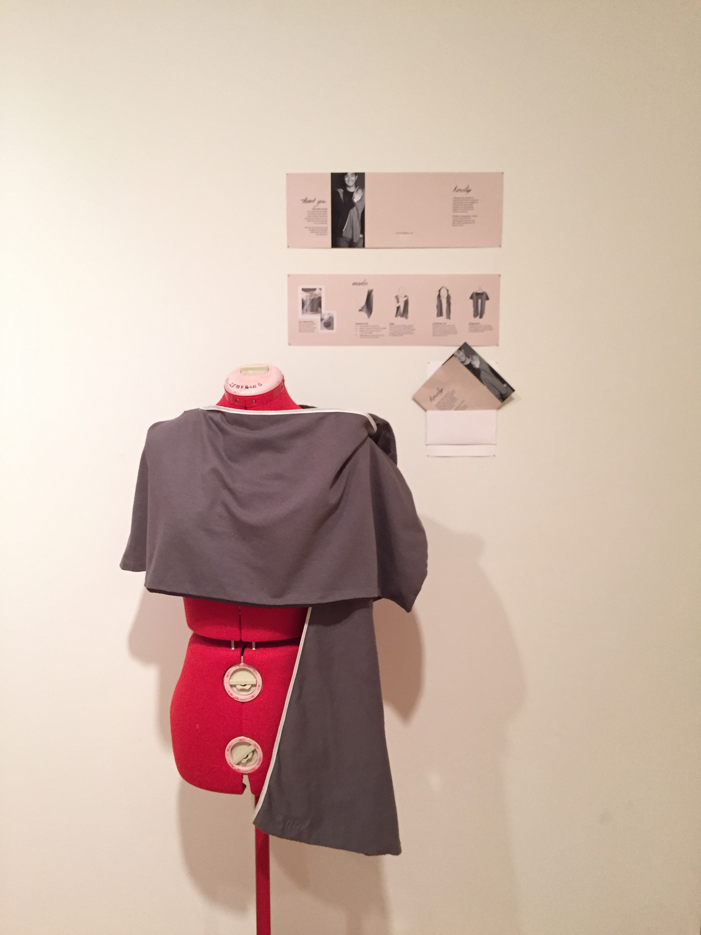 Our piece was featured in our class' Senior Final Show that was set up in the Miller Gallery. We had a working demo session during the reception night, and got a lot of positive and excited feedback about our product!