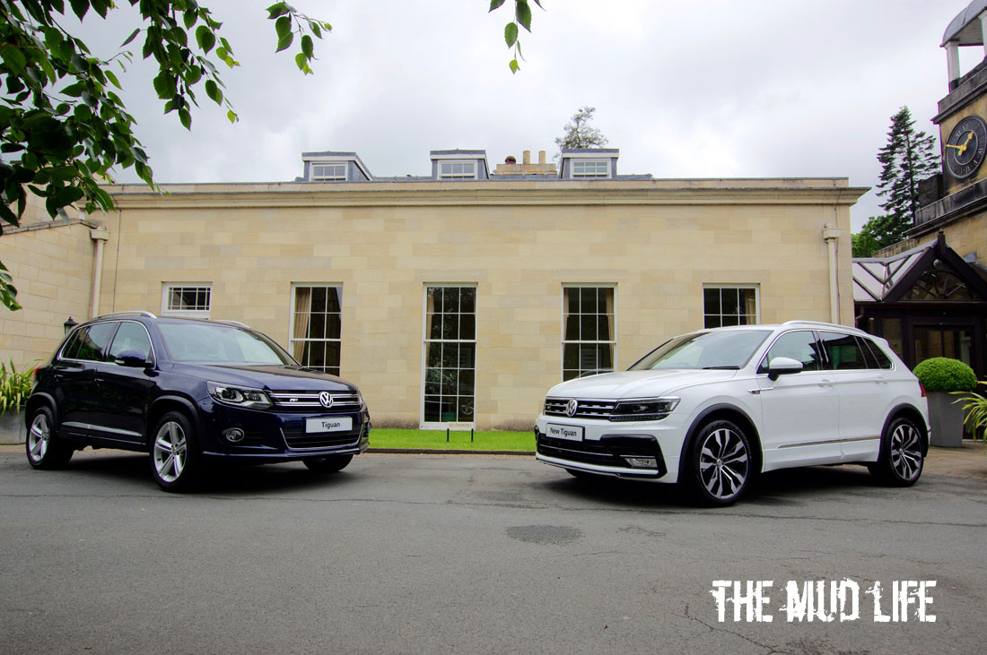 Old and new Tiguan...