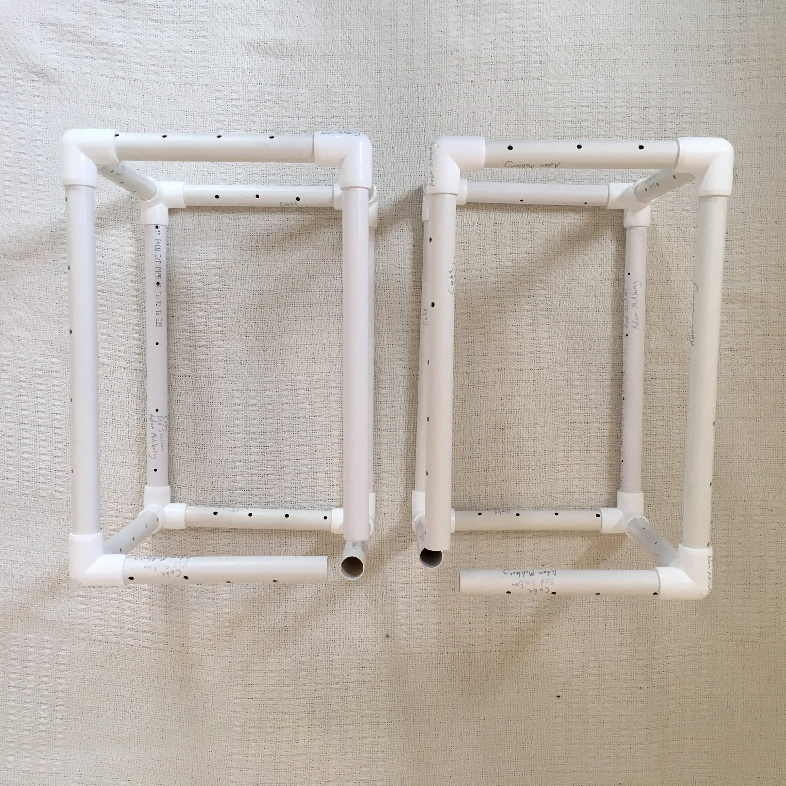 Frames For The Leg Cubes