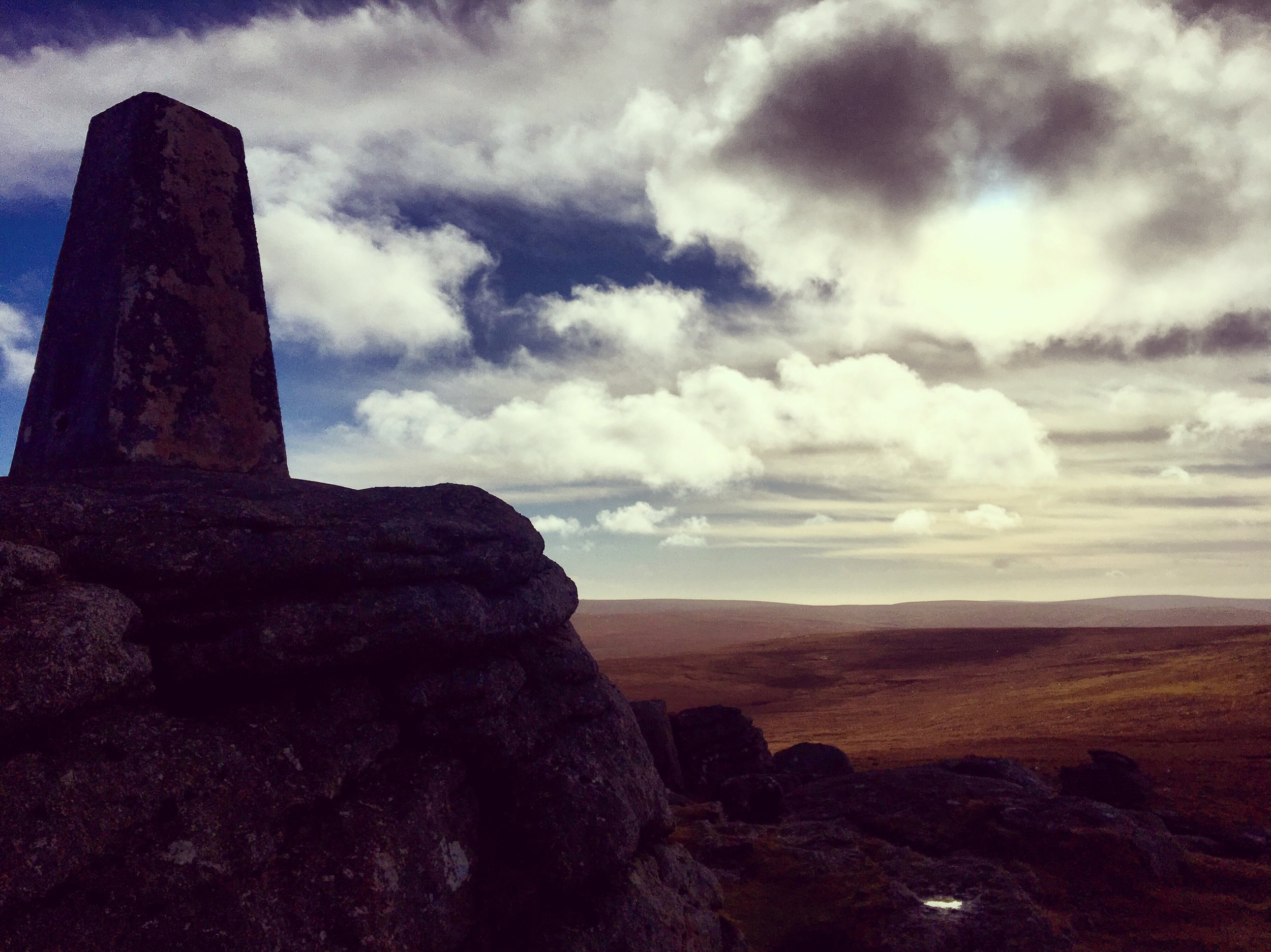 View from Yes Tor, Dartmoor - February 2017