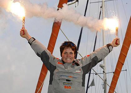 Dame Ellen MacArthur - yachtswoman