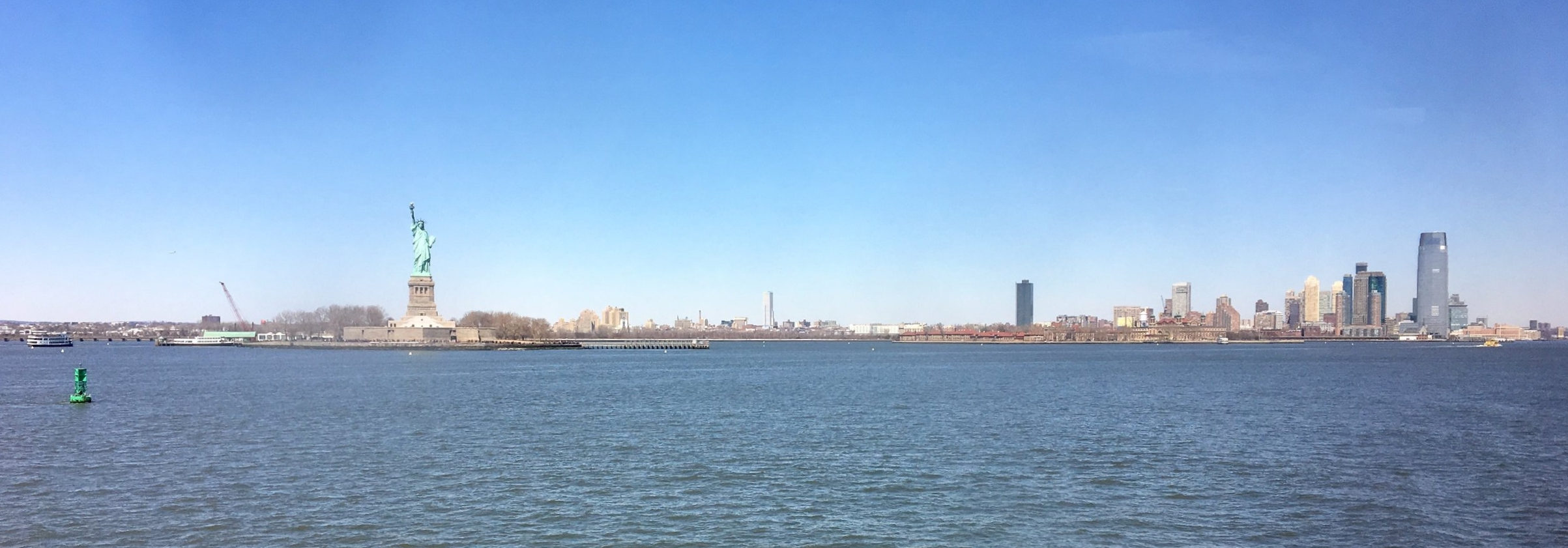 New York City - Staten Island Ferry trip - March 2017