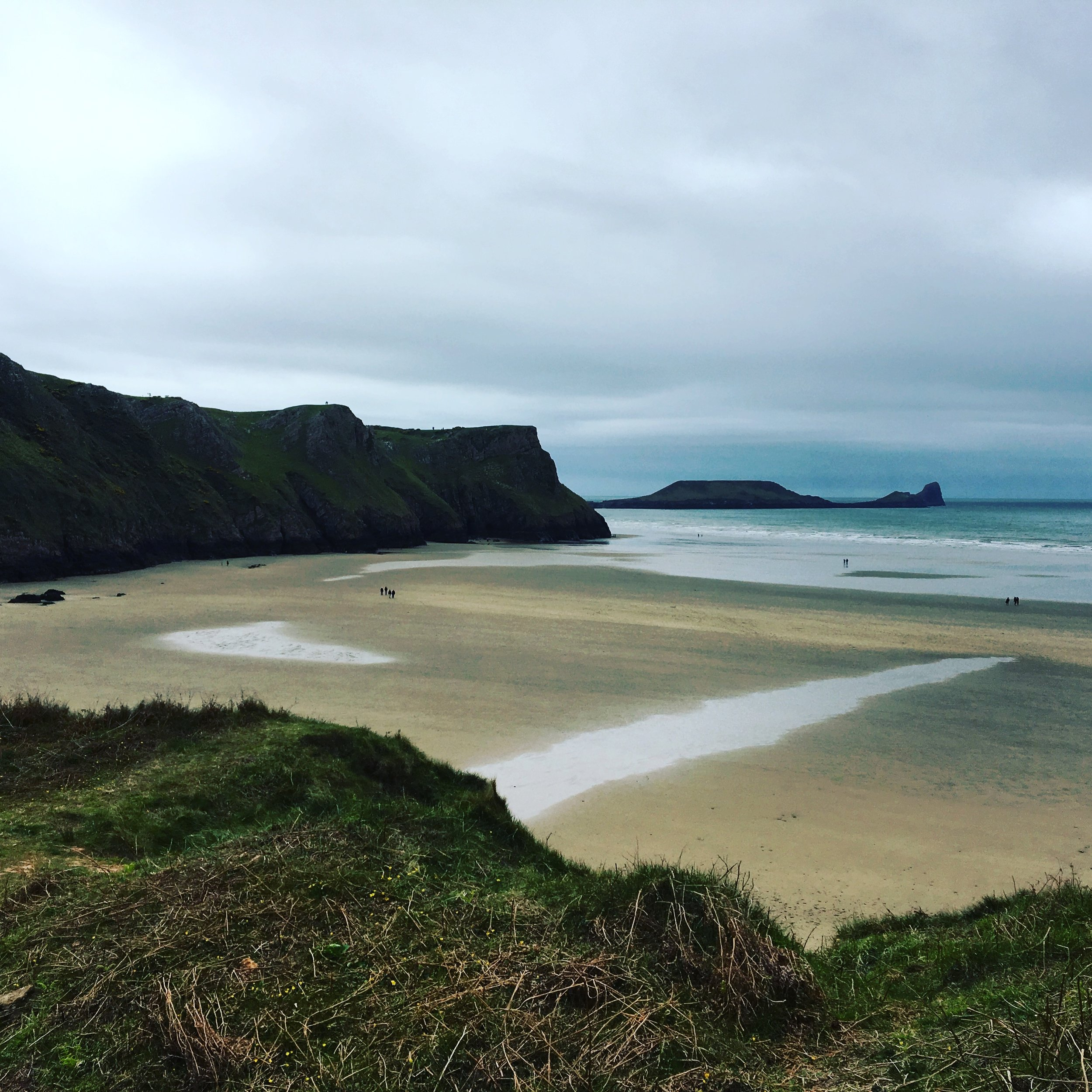 Worms head and beach