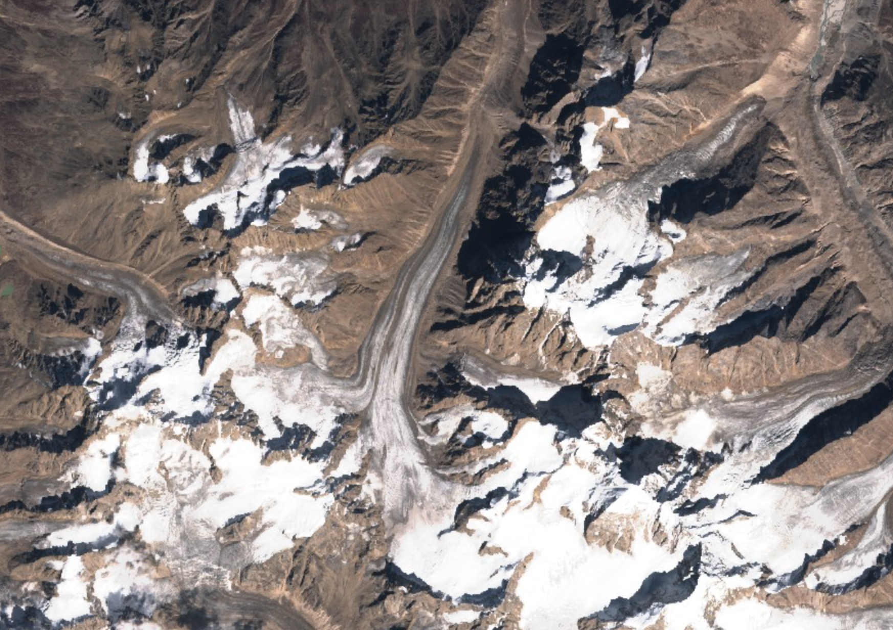 Chotta Shigri glacier, Himachal Pradesh, India