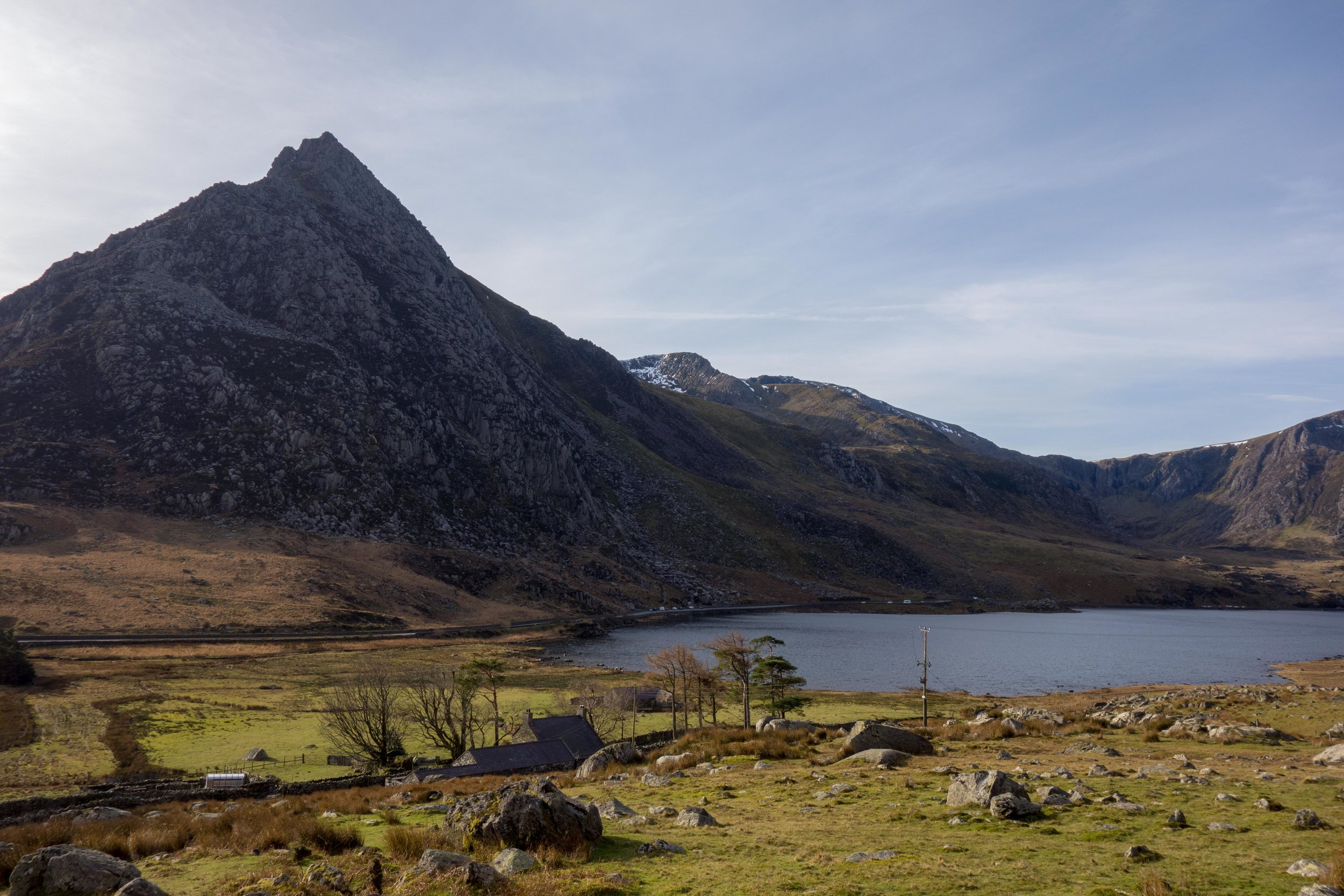 Lake Ogwen and Tryfan, February 2019