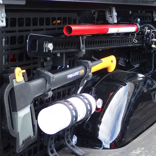 BuiltRight Industries F-150 Raptor Bedside Racks Bed Storage
