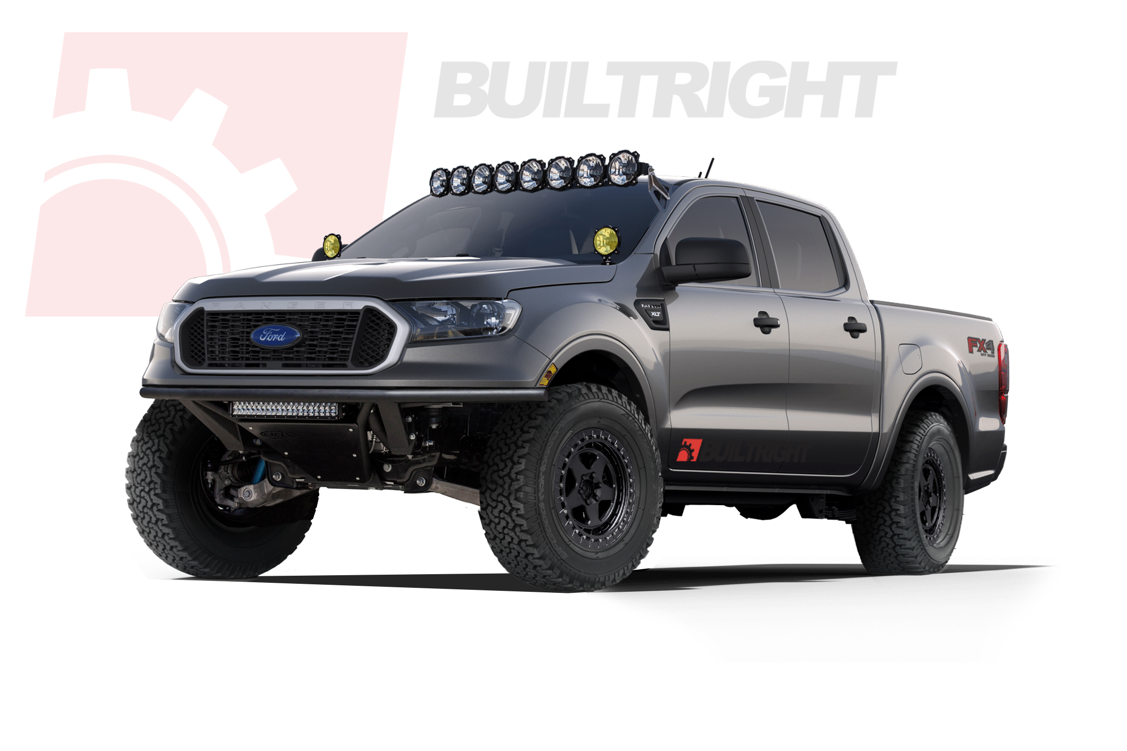 BuiltRight Industries 2019 Ford Ranger concept - The Trailhead Ranger