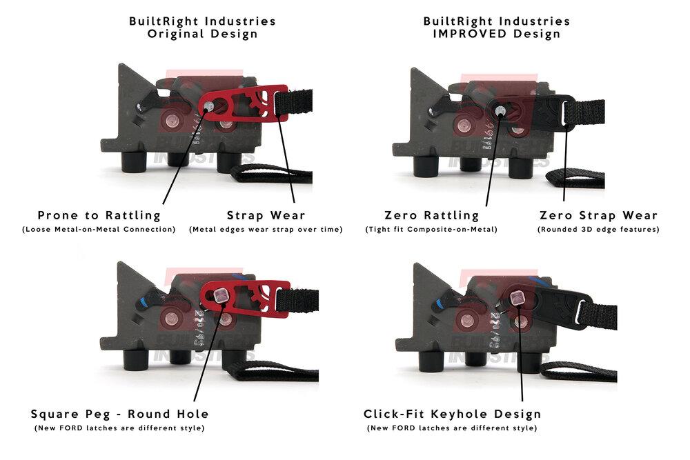 builtright industries rear seat release 2020 f-150 2020 raptor 2020 super duty 2019 f-150 2019 raptor