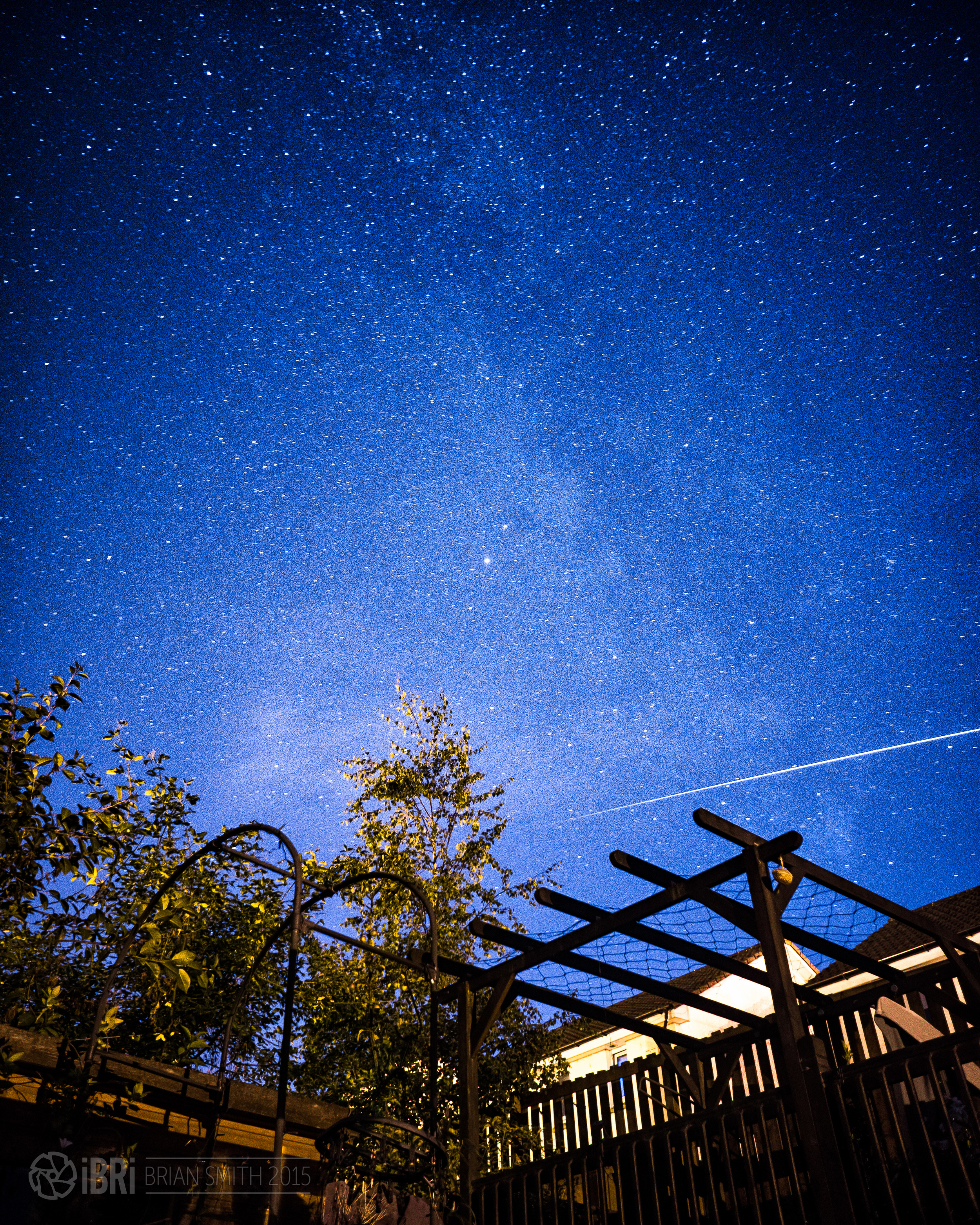 ISS Pass 2 - 7th August 2015