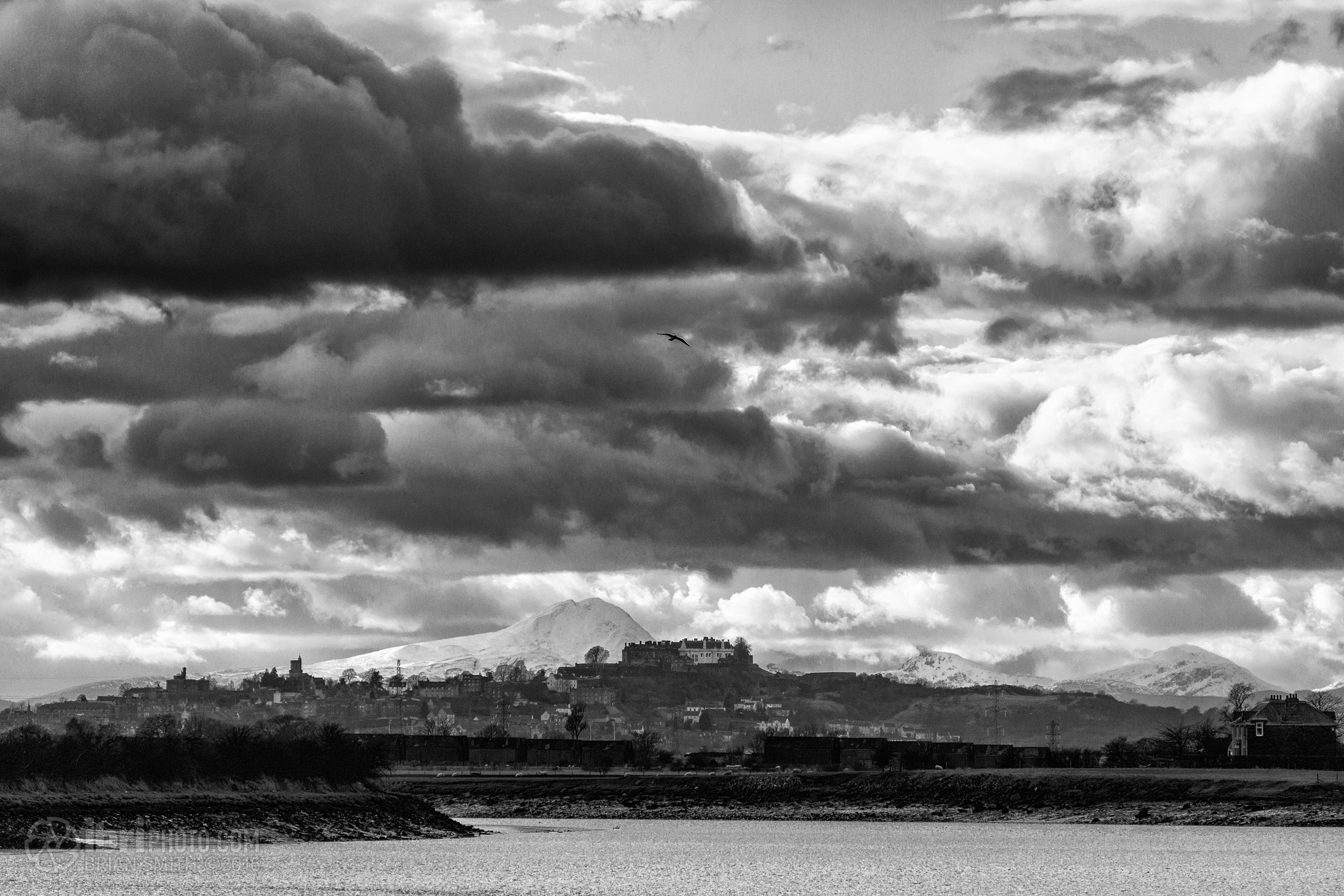 Ben Lomond lines up nicely behind Stirling Castle from this spot.