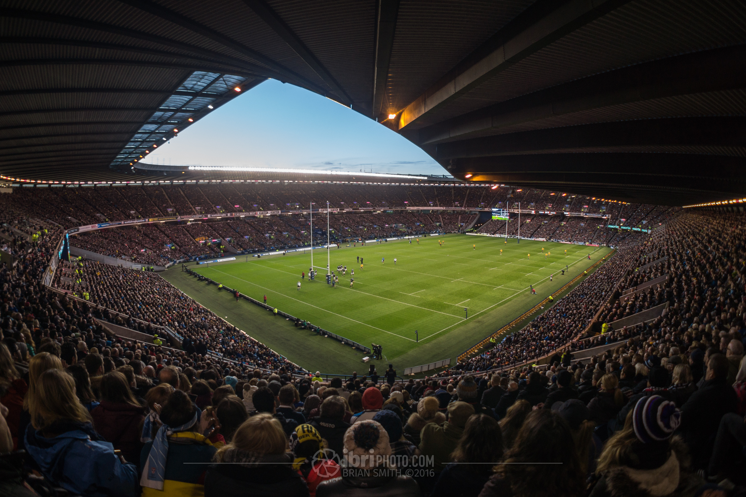 The Murrayfield Sigh