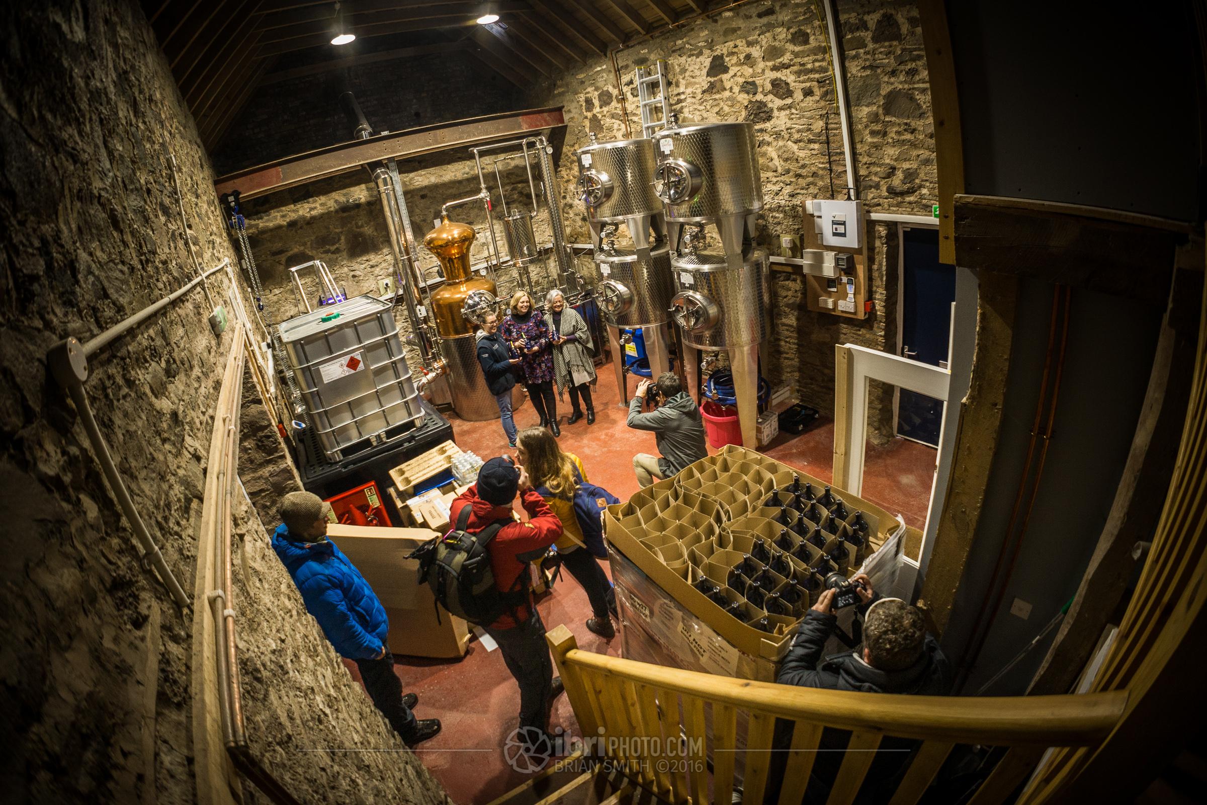 Distillery Visit