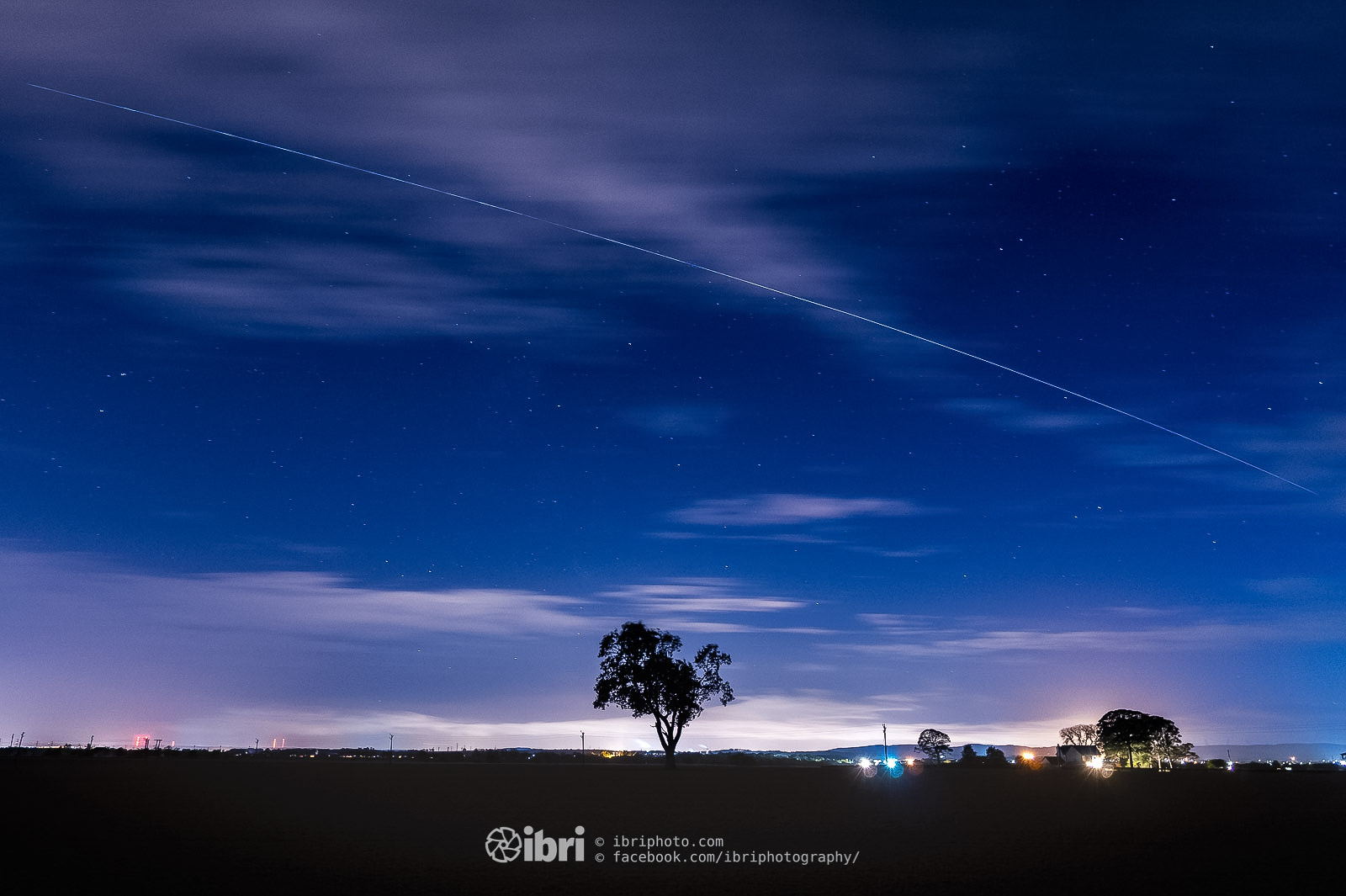 Another fly-past from the International Space Station over the Wee County.