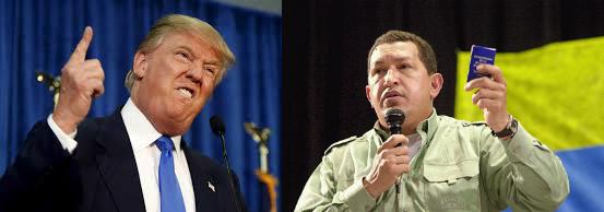 Donald Trump and Hugo Chavez