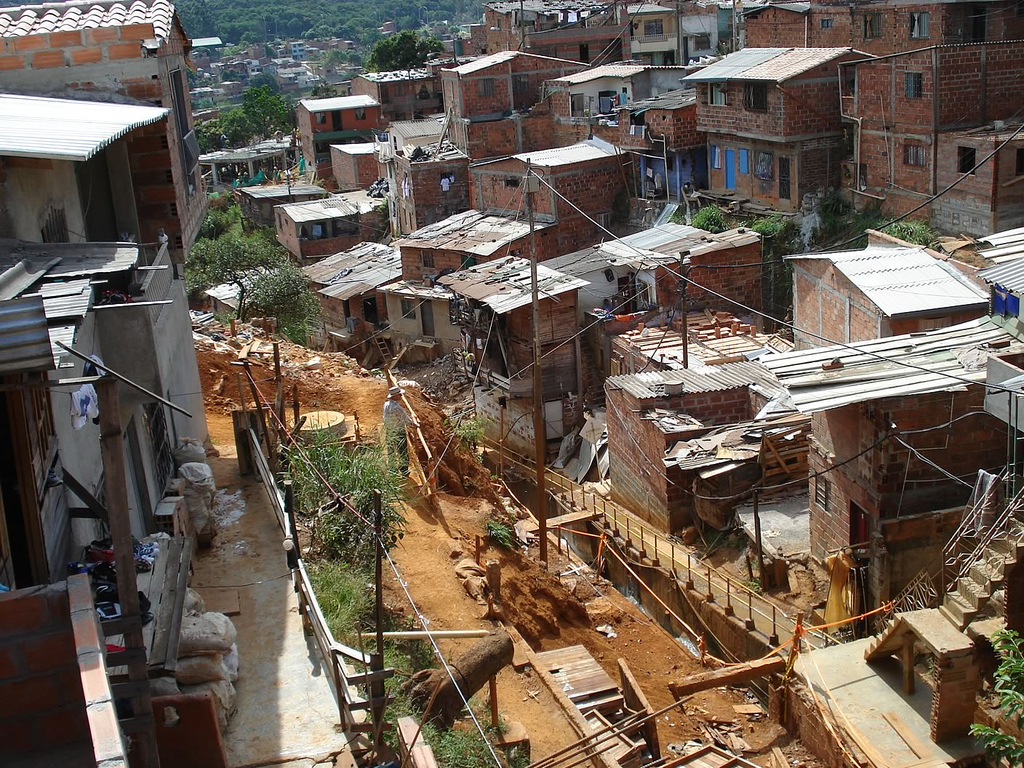Urban poverty in Colombia