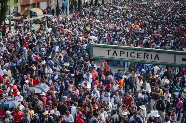 March against Corruption, Mexico City